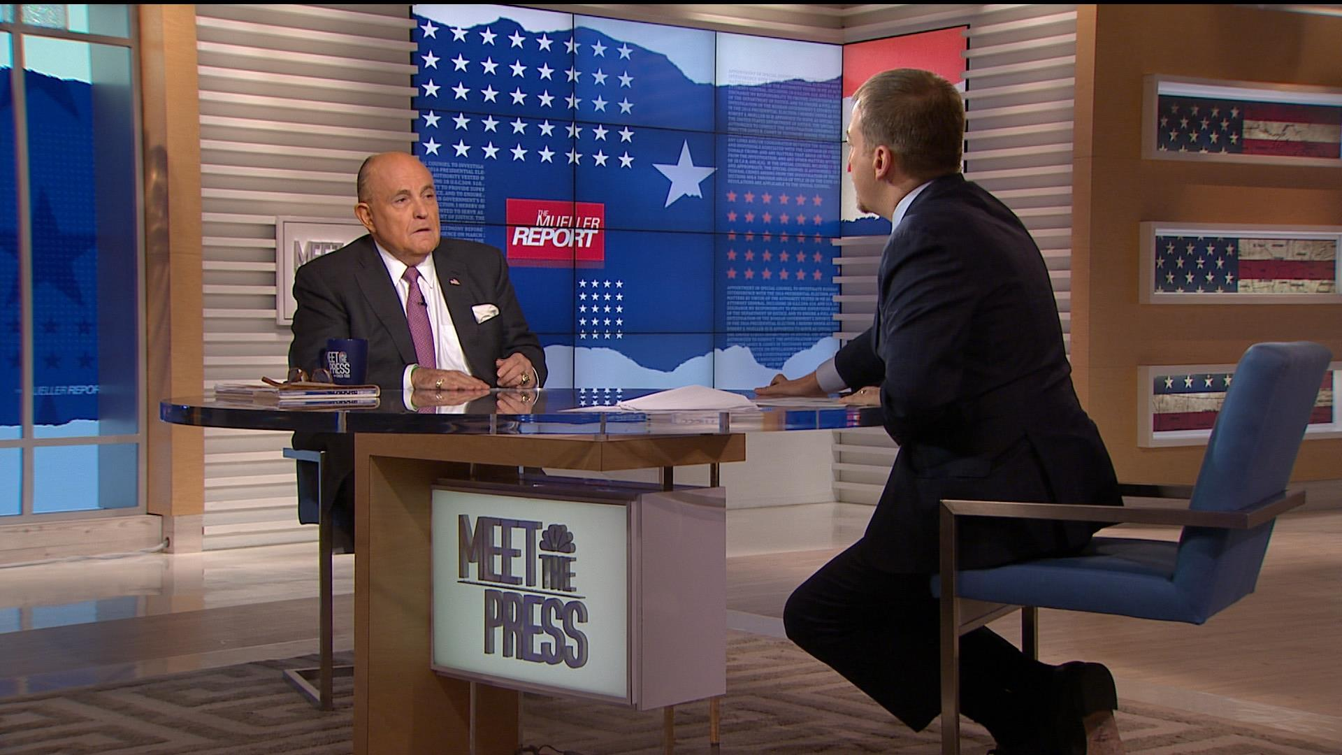 MTP Compressed: After Mueller, Trump claims exoneration, Dems weigh impeachment
