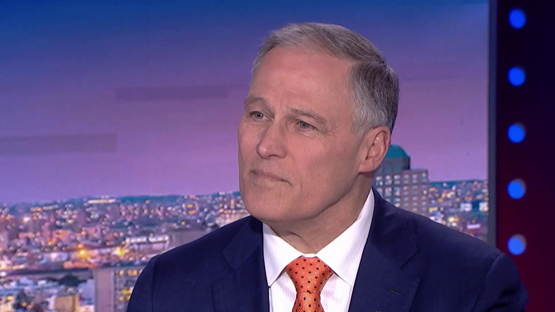 Inslee introduces the 'Schultz should not run for president Latte'