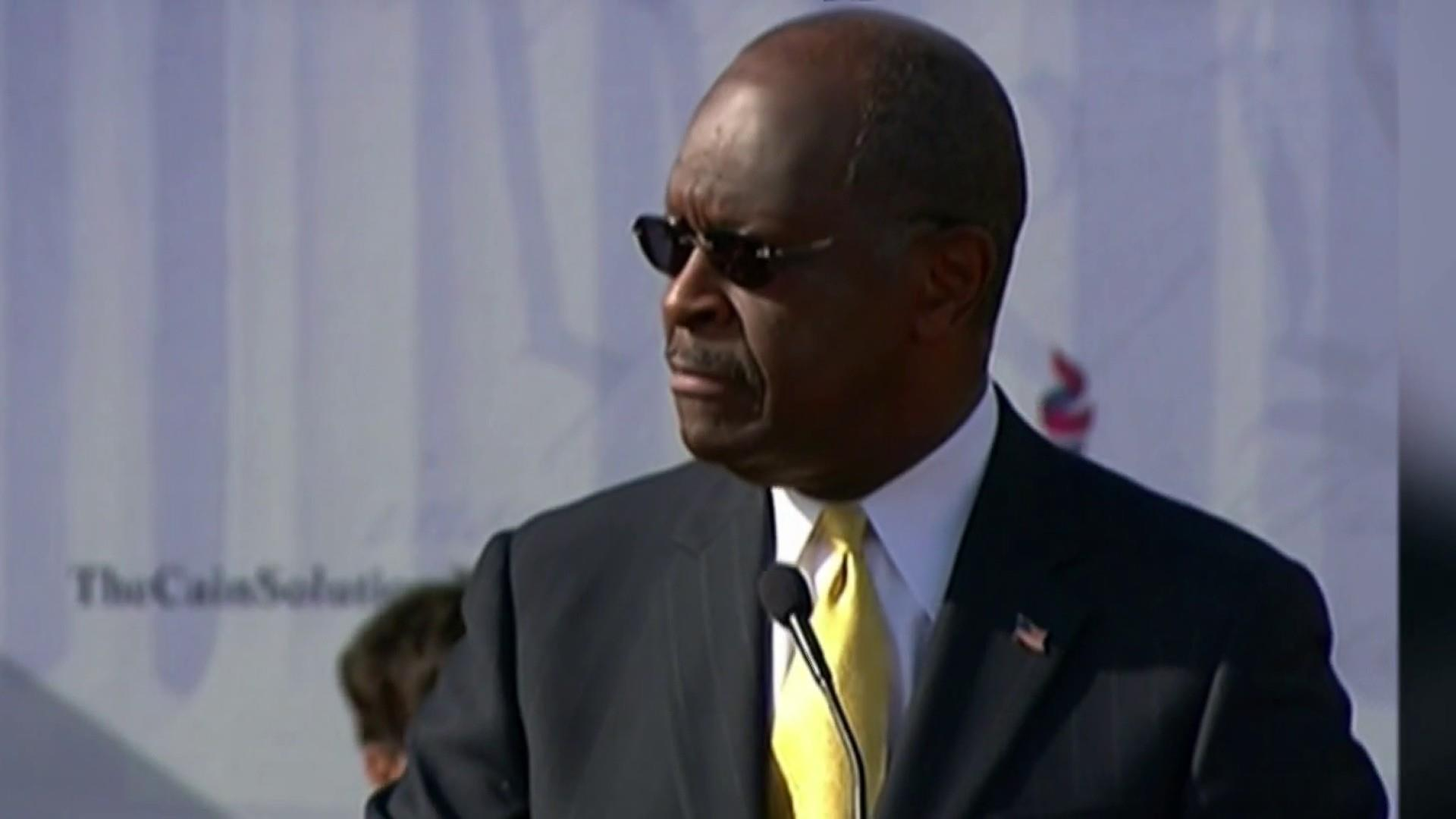 Trump trying to hand keys to U.S. economy to Herman Cain