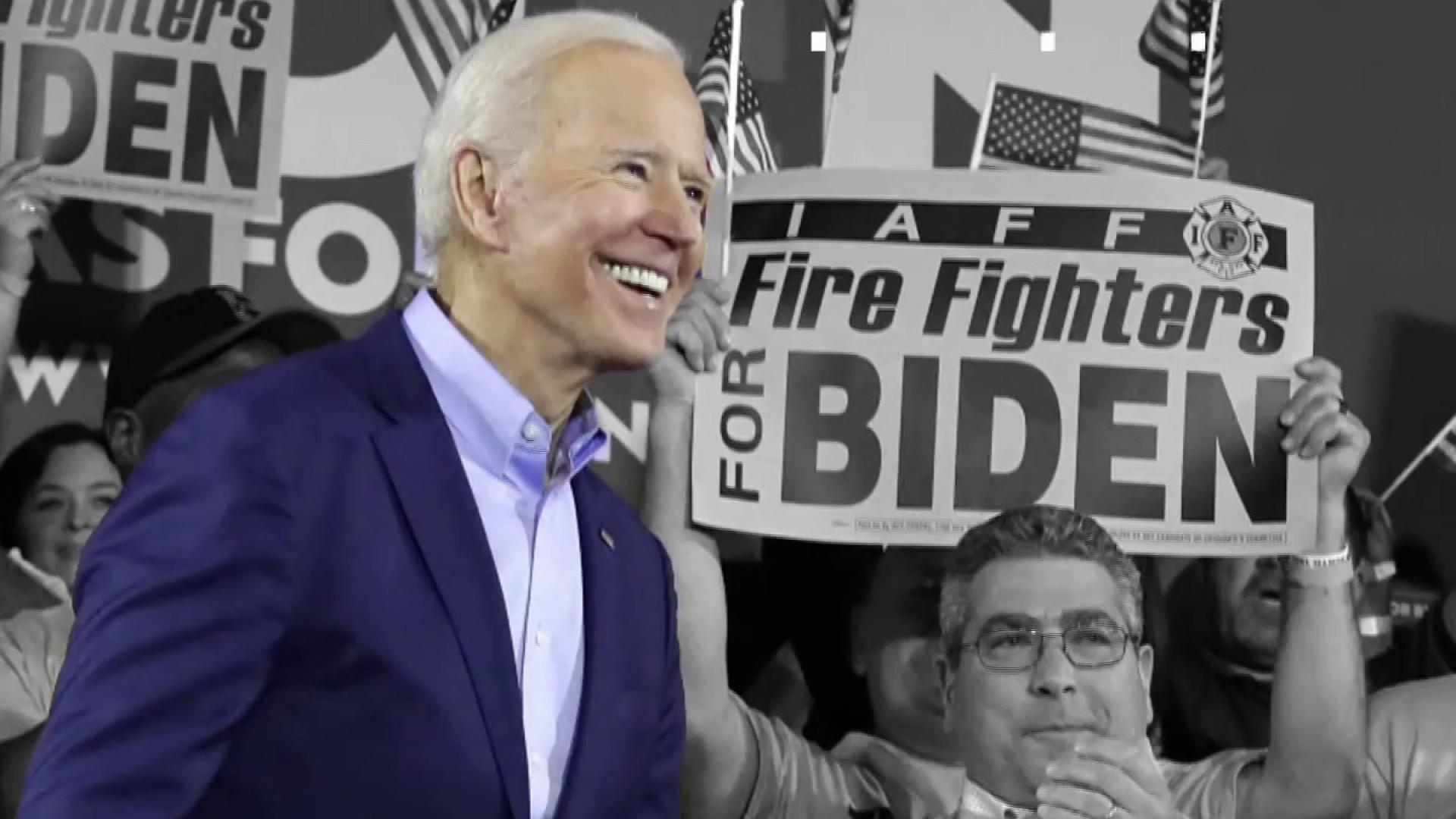 Trump is 'taking the bait' as Biden kicks off his 2020 campaign
