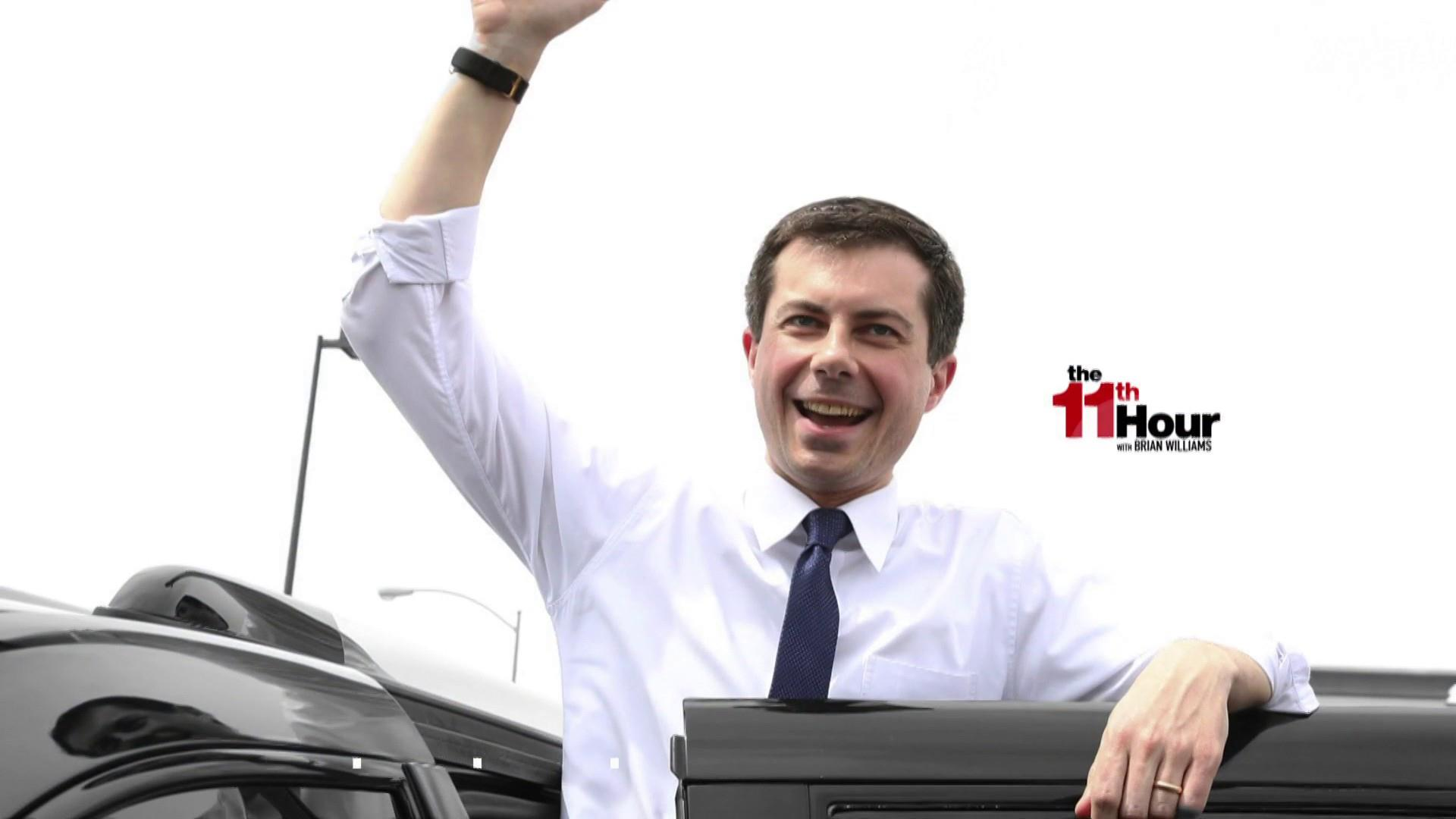 Buttigieg breaks through the political noise