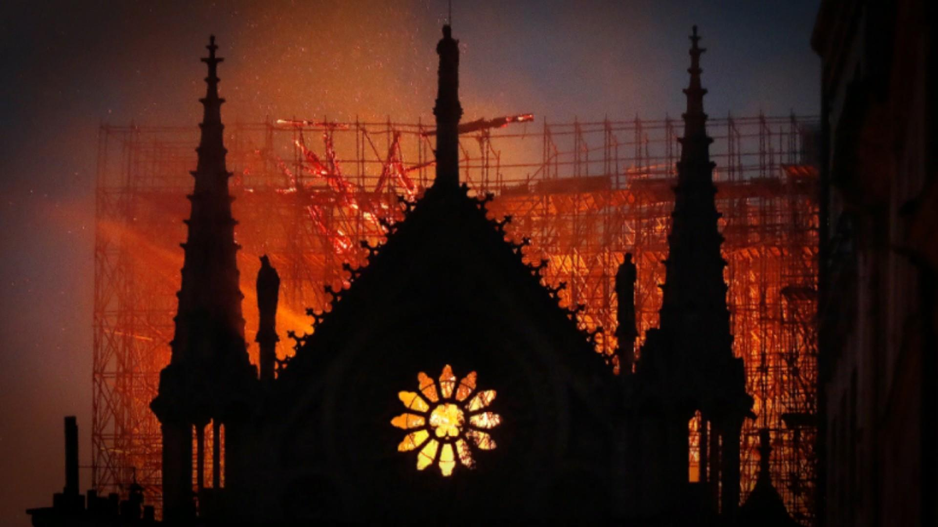 French officials pledging to rebuild Notre Dame after devastating fire