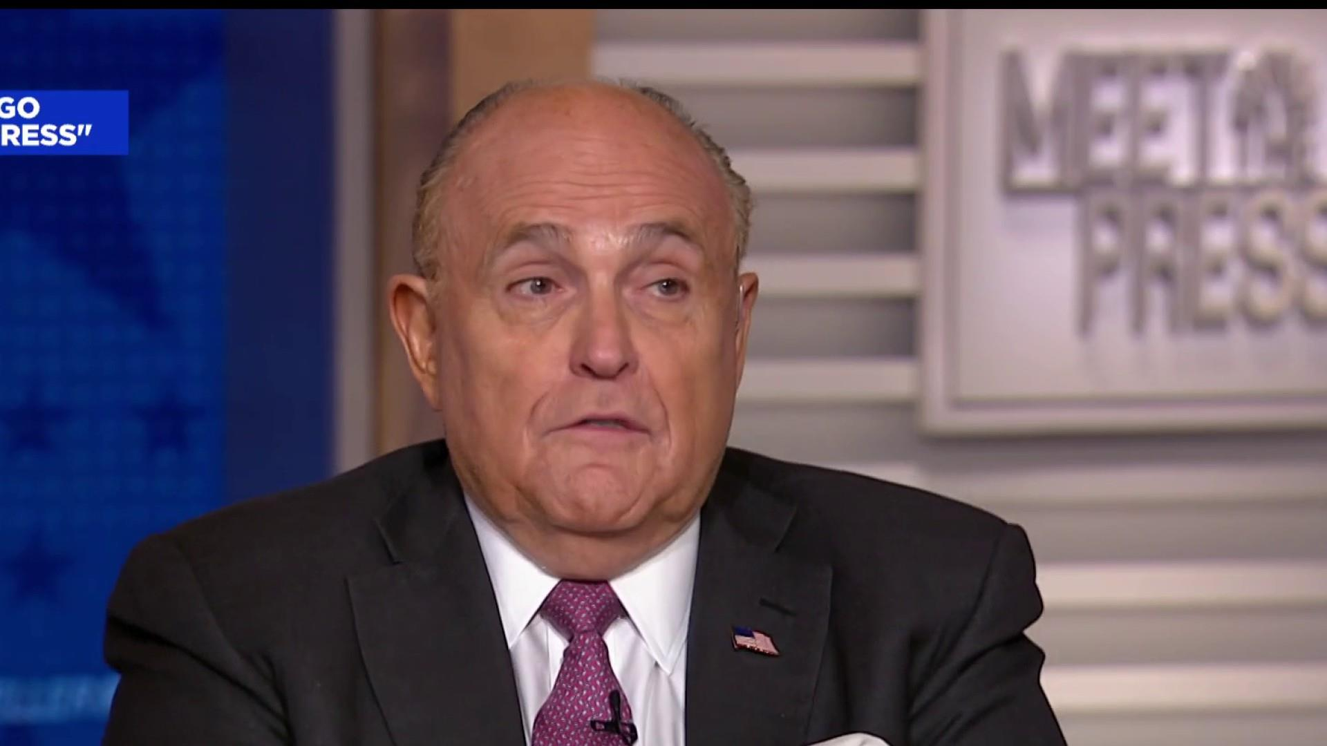 Giuliani: 'Nothing wrong' with taking help from the Russians
