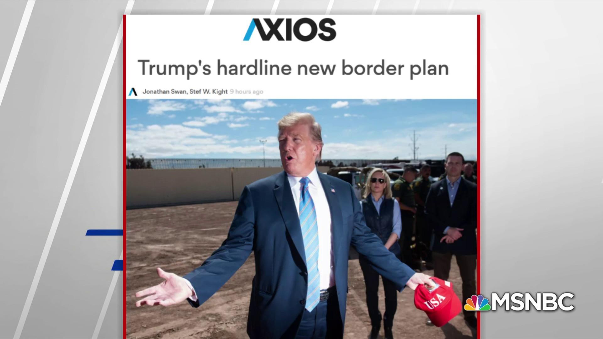 Axios: Trump, Miller in favor of reinstating family separation policy