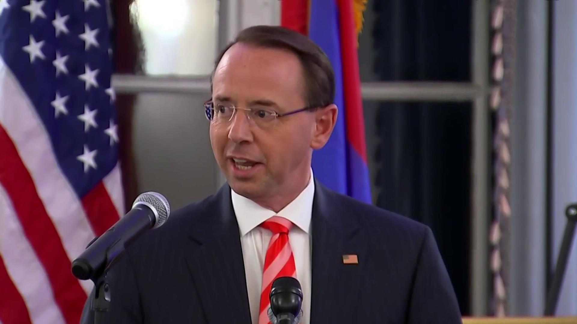 WaPo: Rosenstein told Trump he agreed President was treated unfairly