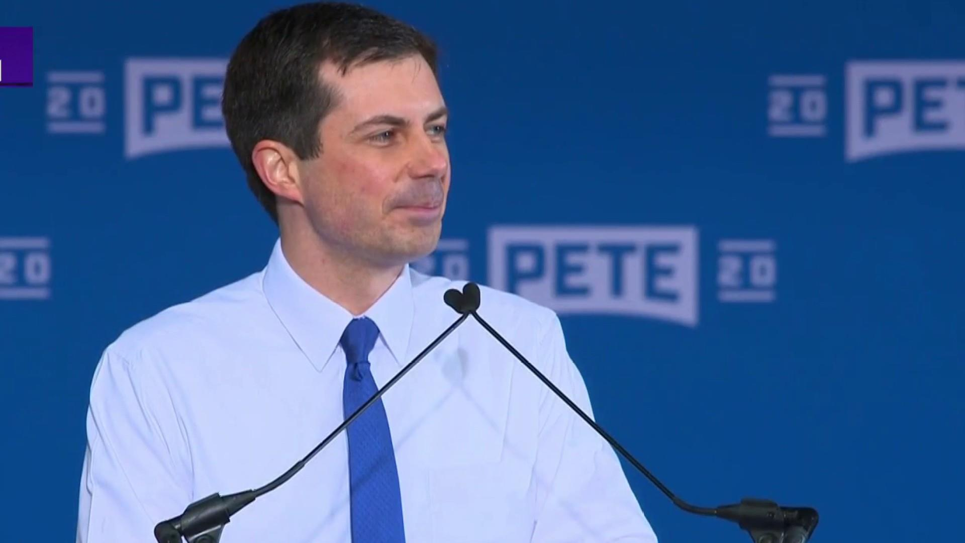 Pete Buttigieg: 'Sometimes a dark moment brings out the best in us'