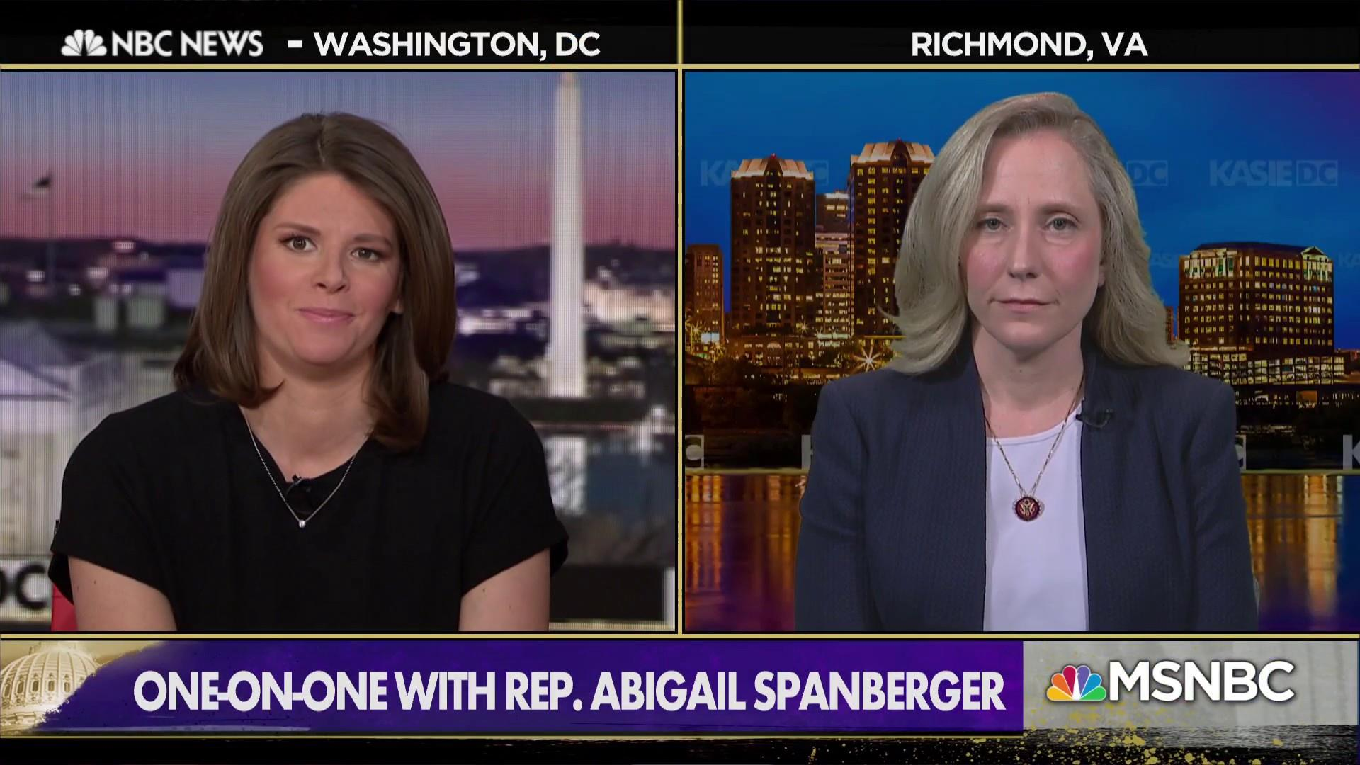 Rep. Spanberger: 'We need more answers' before impeachment proceedings