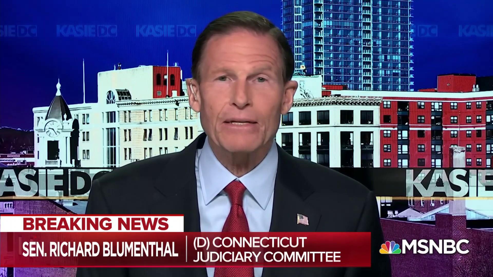 'Disgrace': Blumenthal decries Nielsen's tenure as DHS Secretary