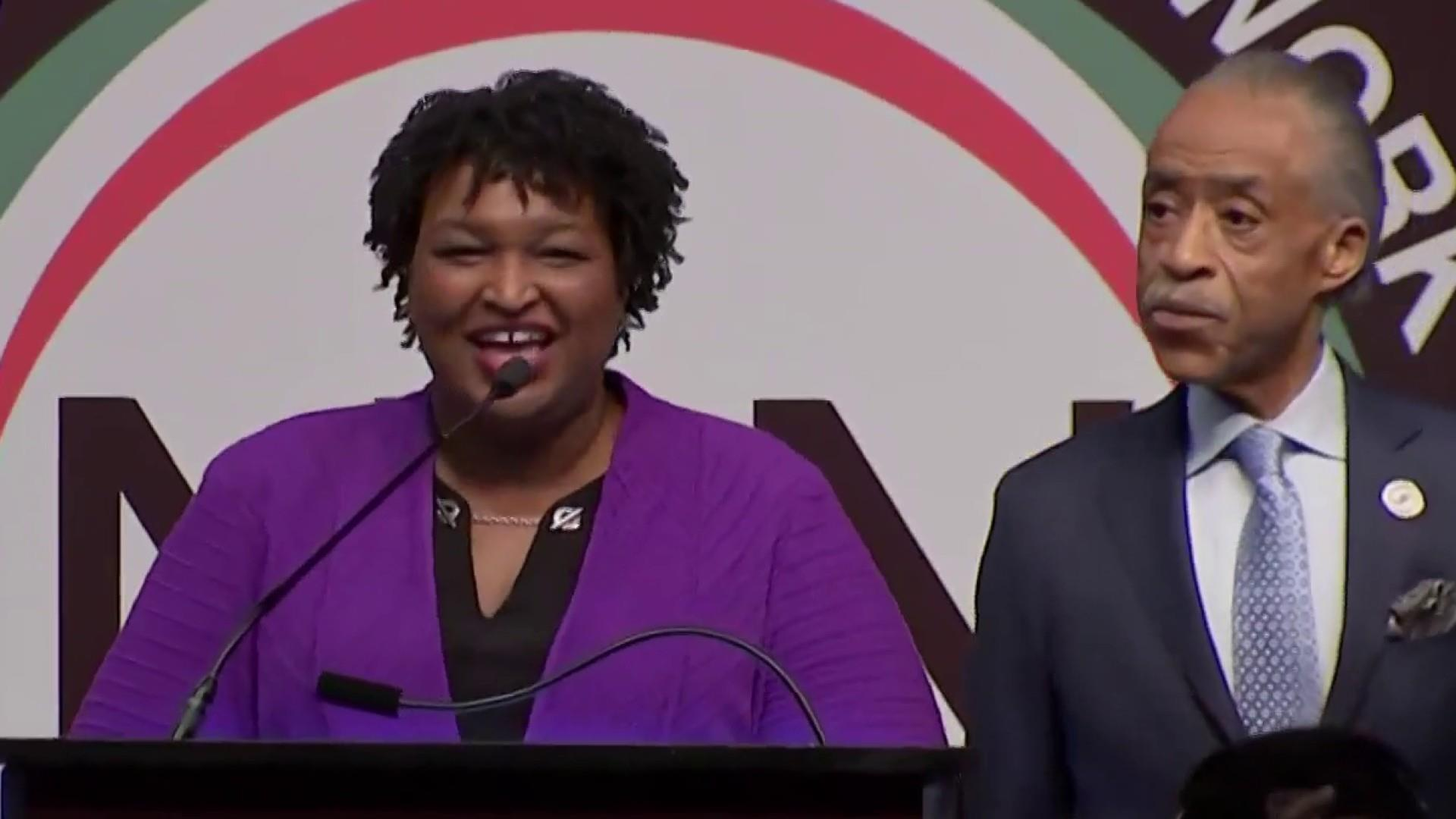 Stacey Abrams could be a kingmaker or queenmaker in 2020