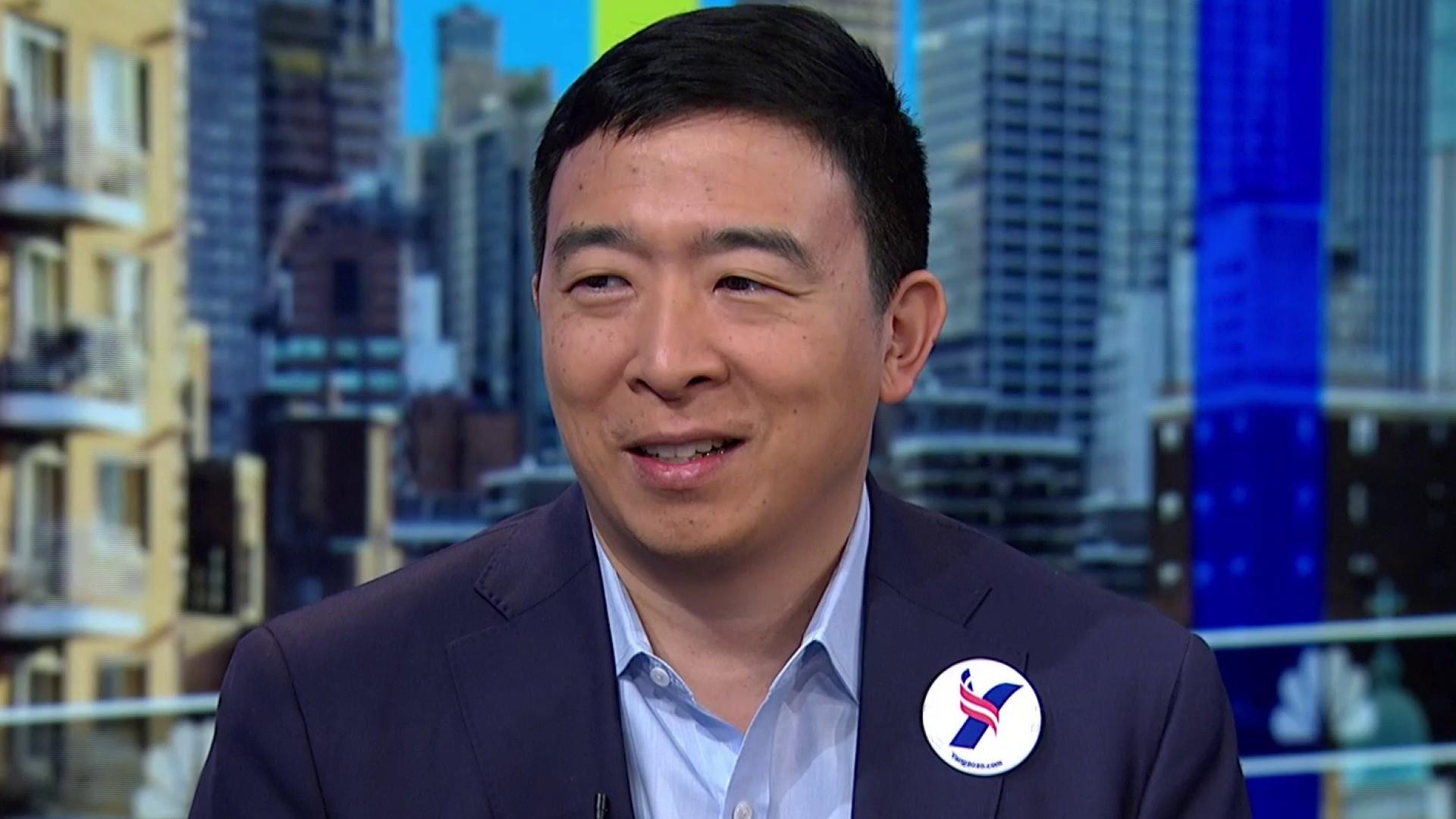 Presidential candidate Yang wants you to have $1,000 a month