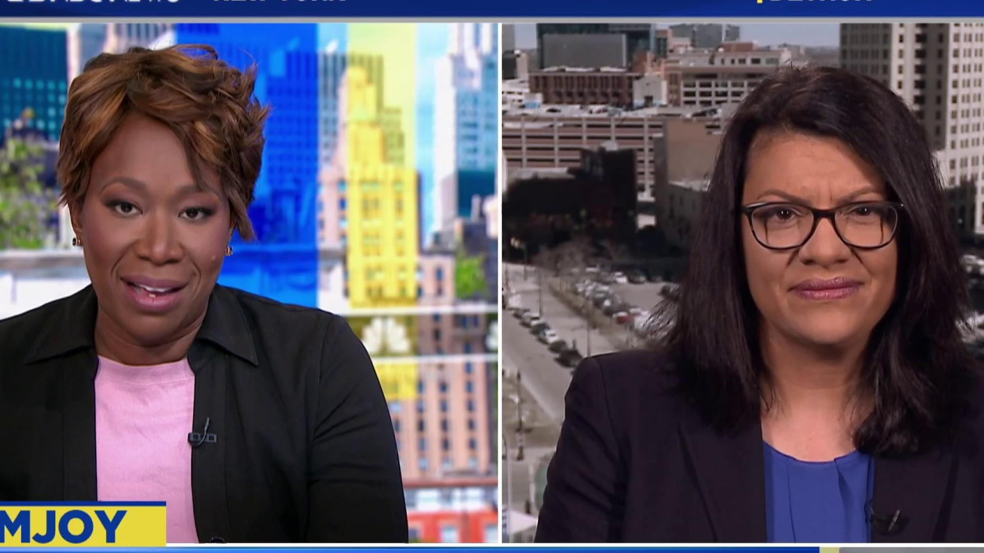Tlaib wants us to see 'light' in her and Ilhan Omar's election
