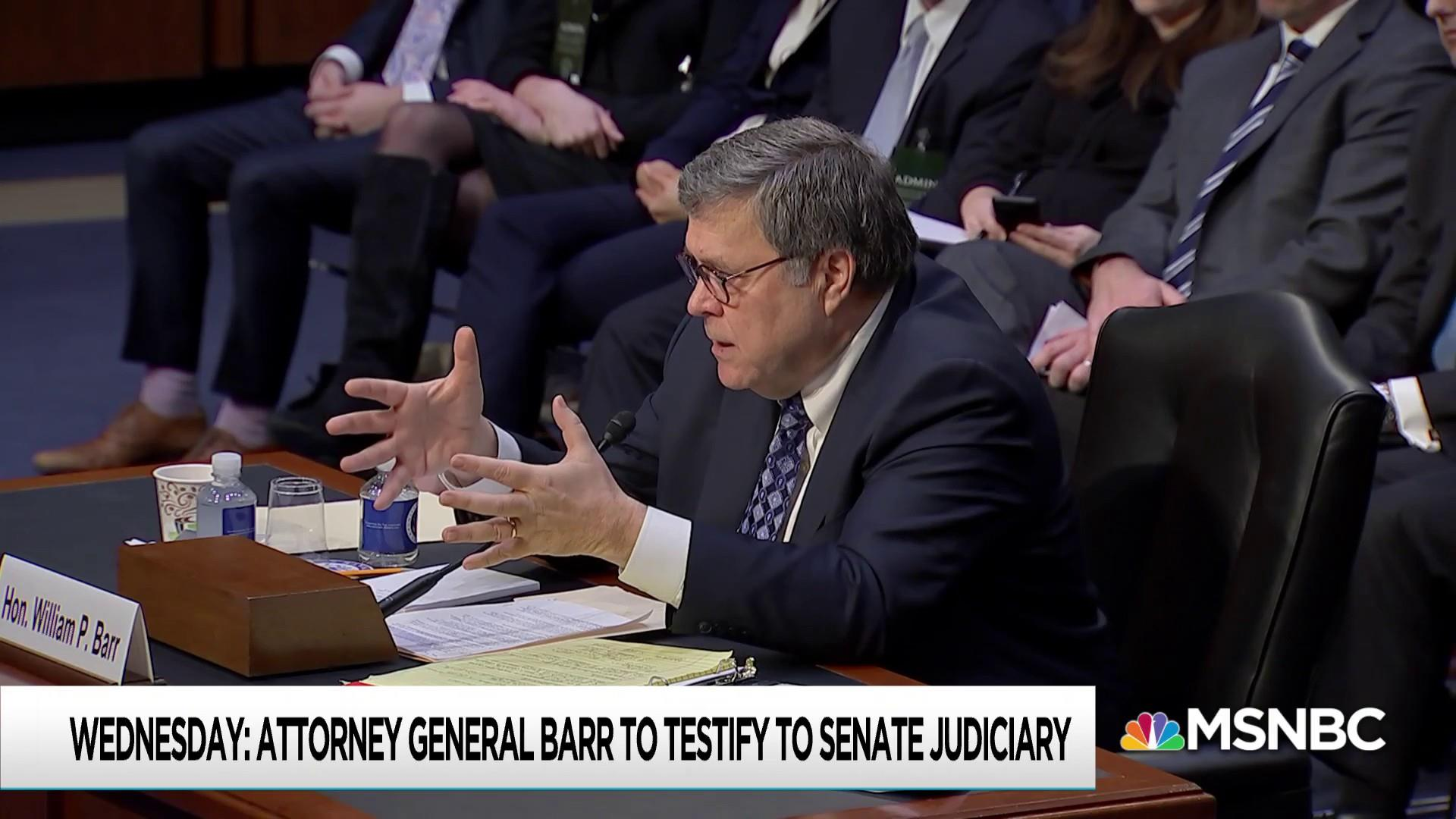 Barr excuses threaten to derail scheduled House Judiciary hearing