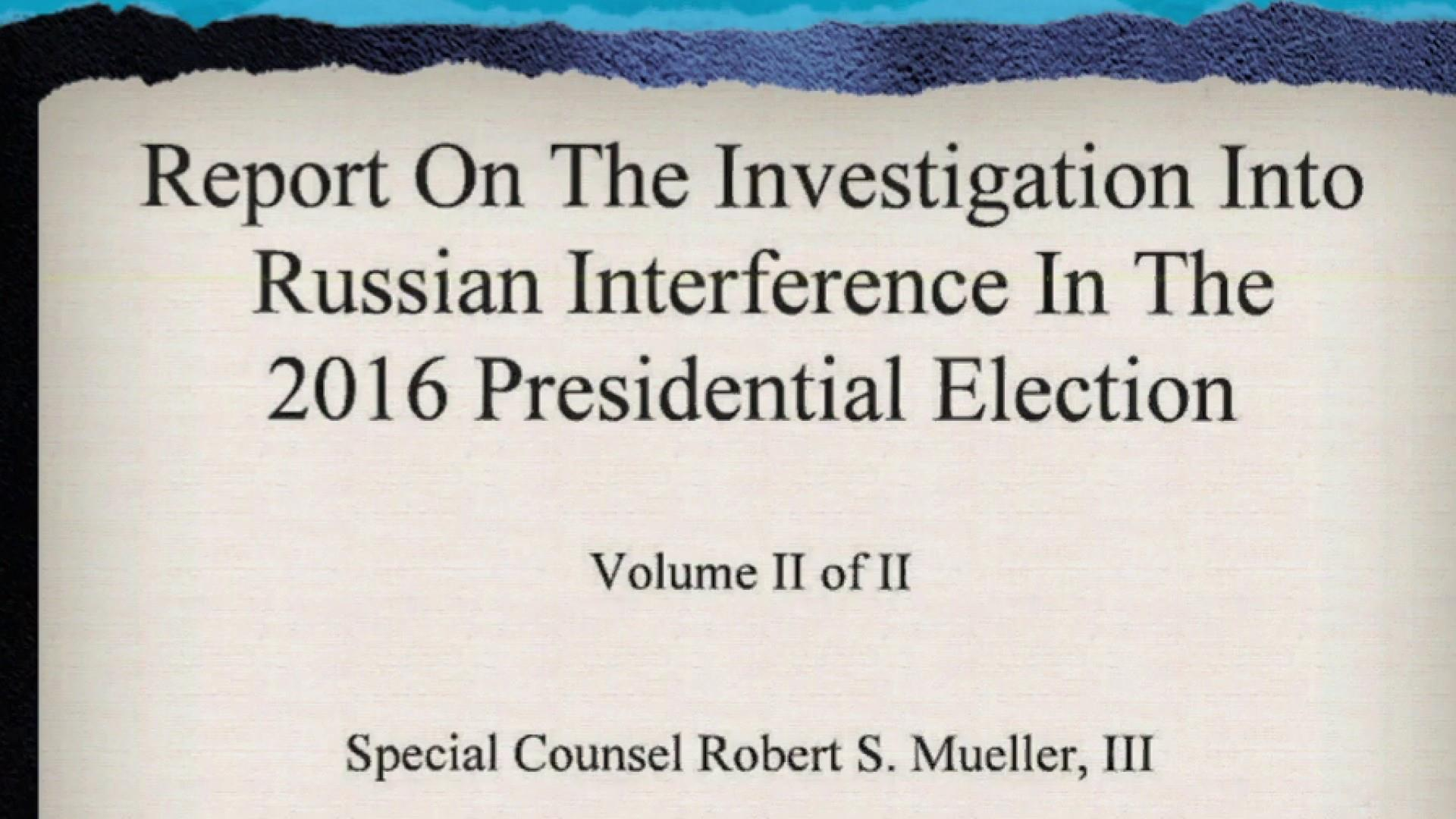 Mueller report a road map for charging Trump with obstruction