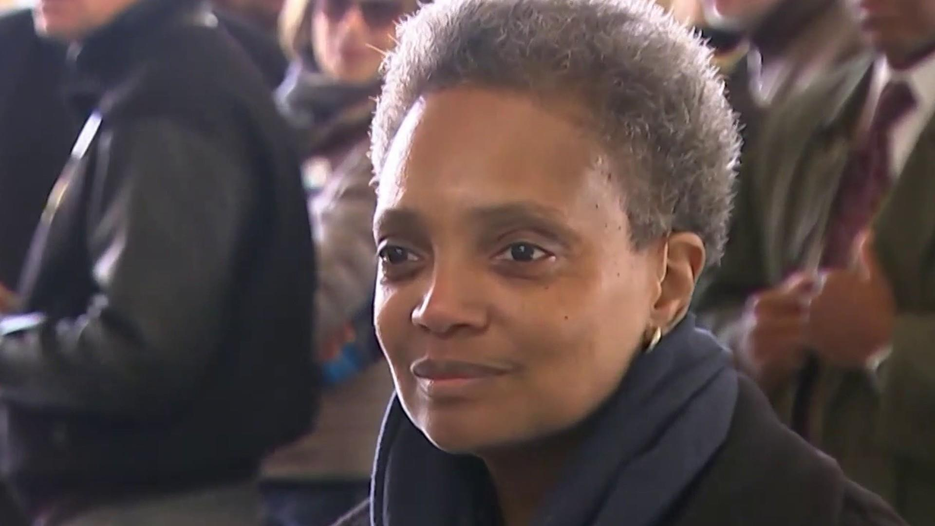 Lori Lightfoot wins historic victory in Chicago mayor race