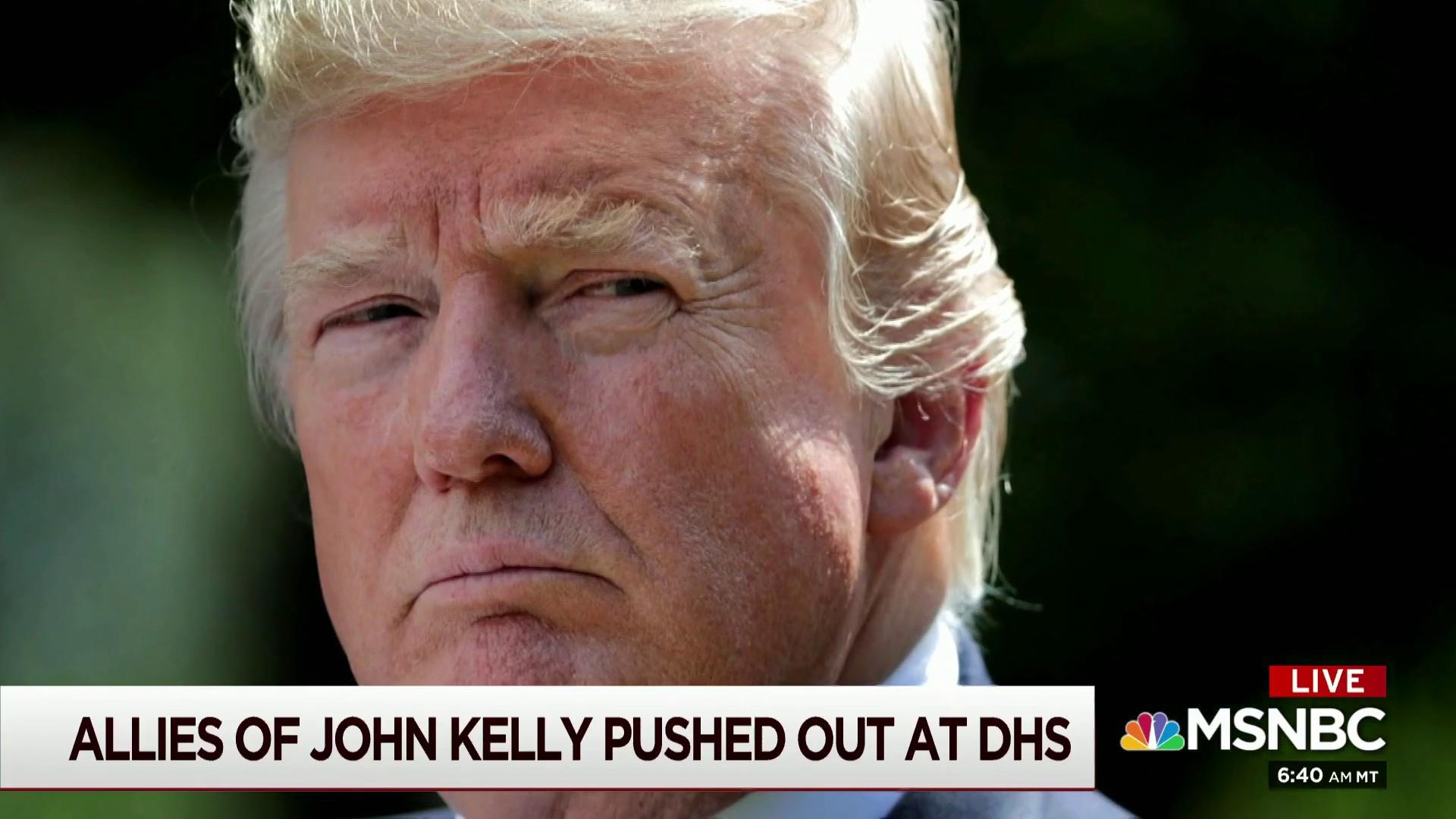 Trump's fury incites upheaval at DHS