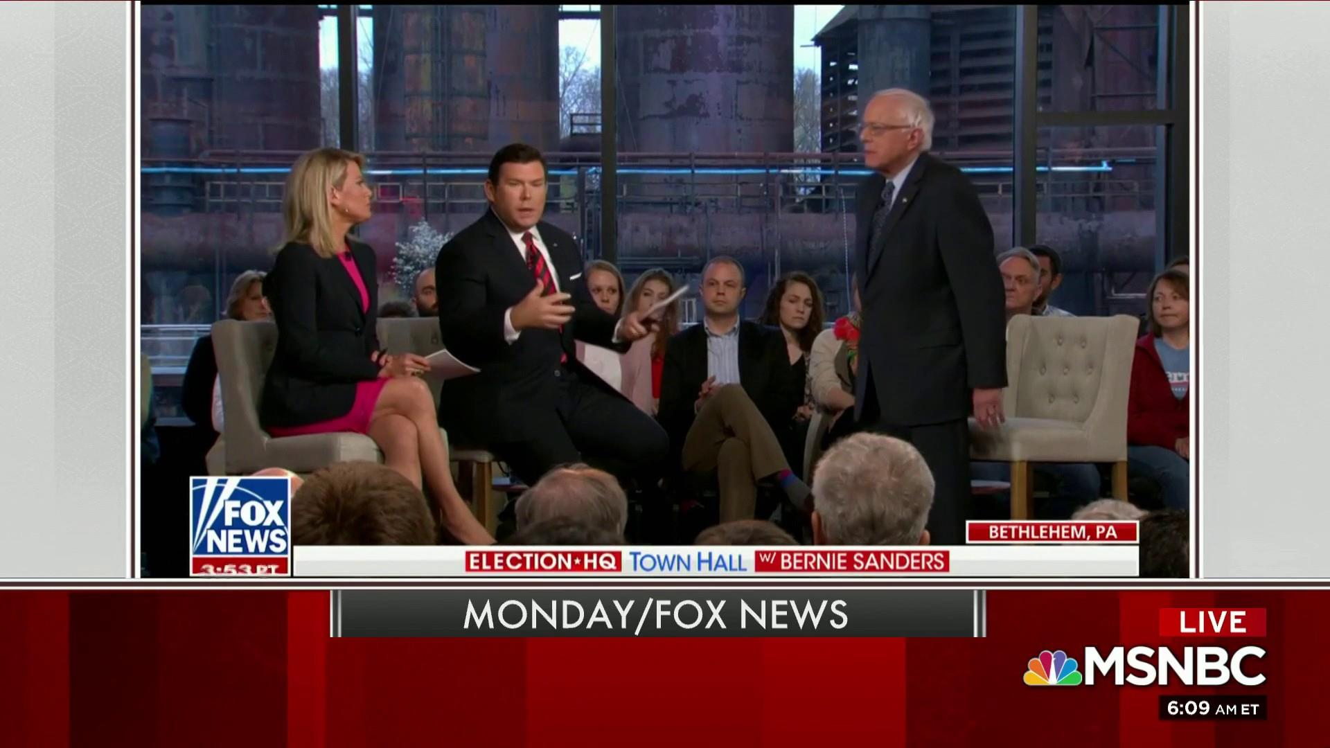 'Crazy Bernie' appears to be getting under Trump's skin