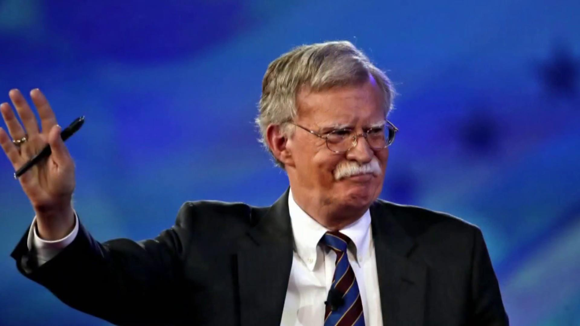 When he wakes, Bolton thinks about nuclear weapons: New Yorker