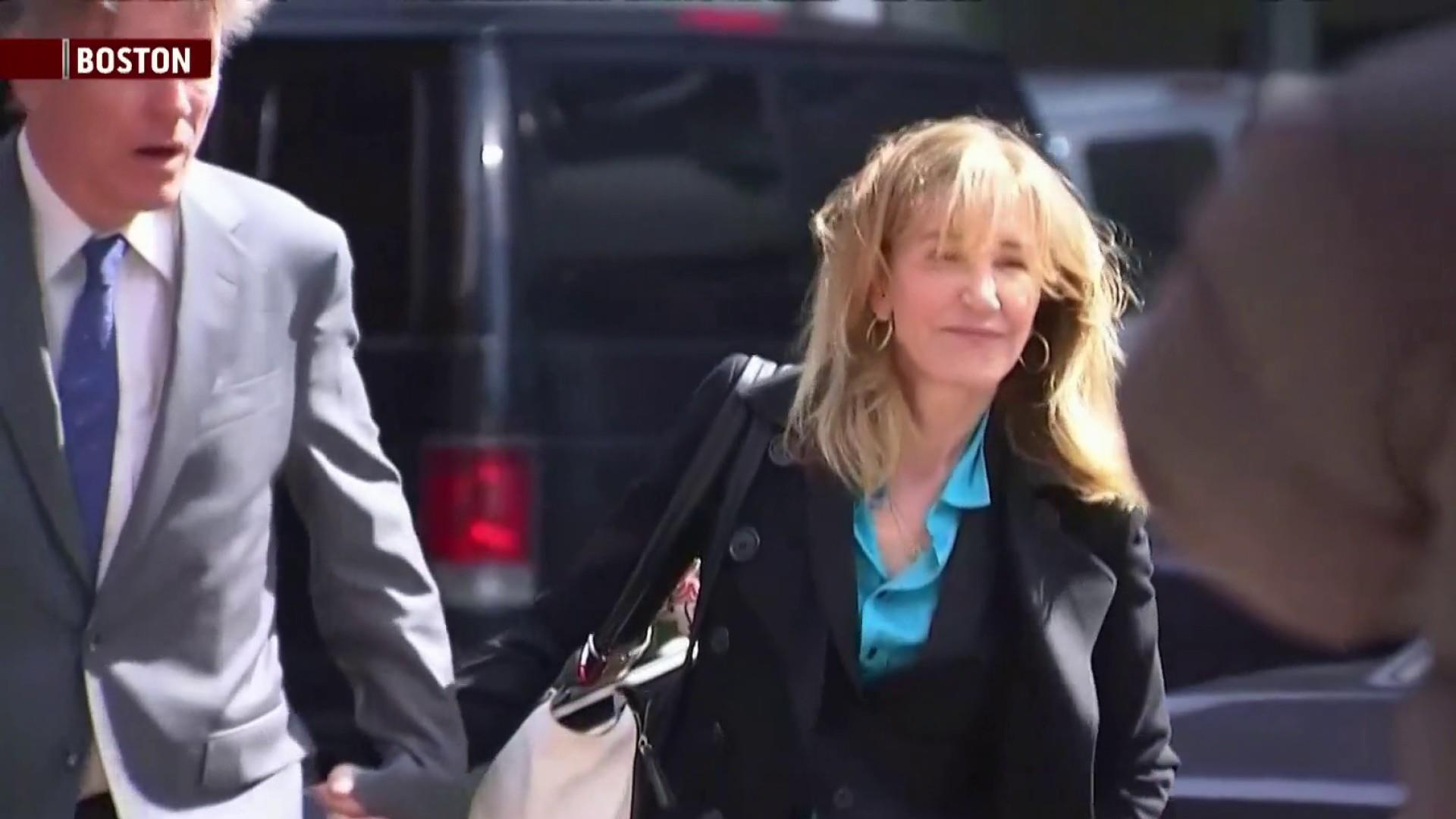 Actress Huffman among group pleading guilty in scandal