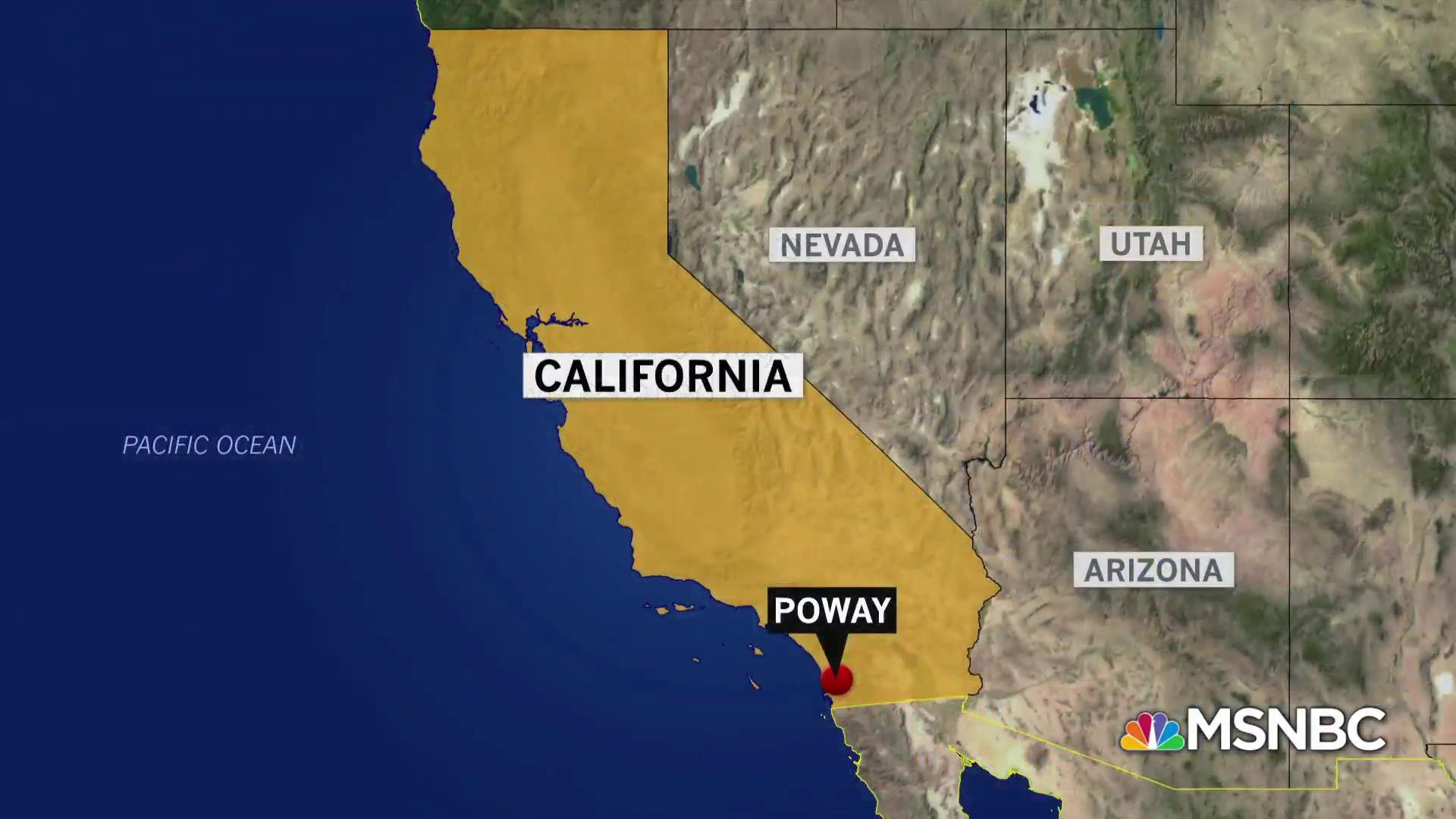 Police investigating shooting at synagogue in Poway, California