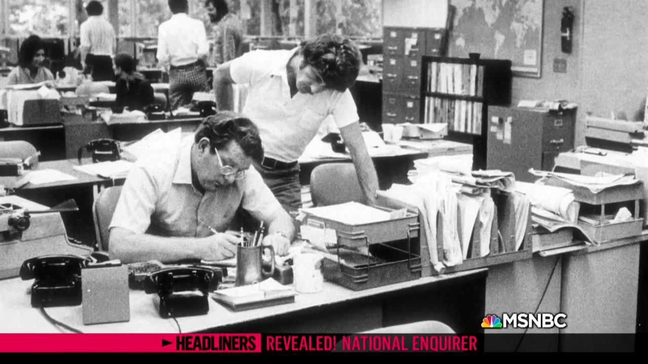 'Headliners: Revealed! National Enquirer' Bending the Rules