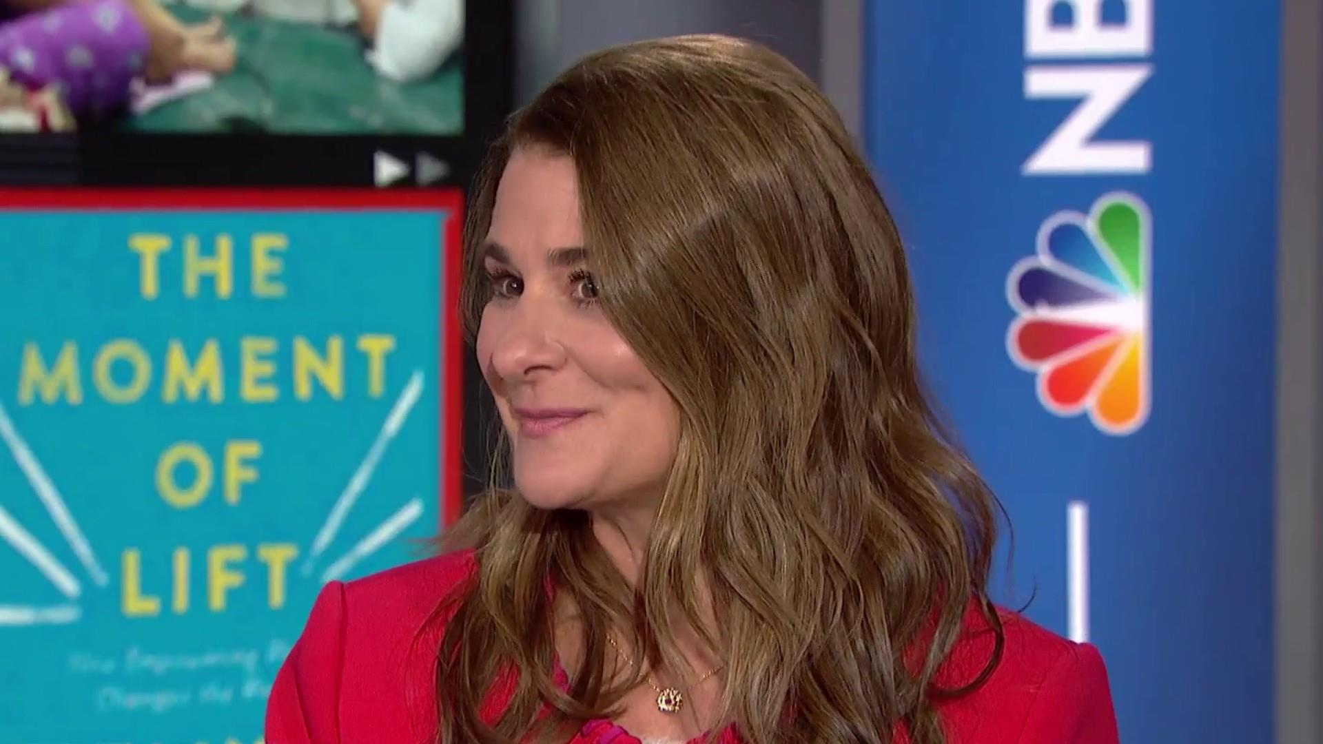 Melinda Gates explores women and unpaid and domestic labor