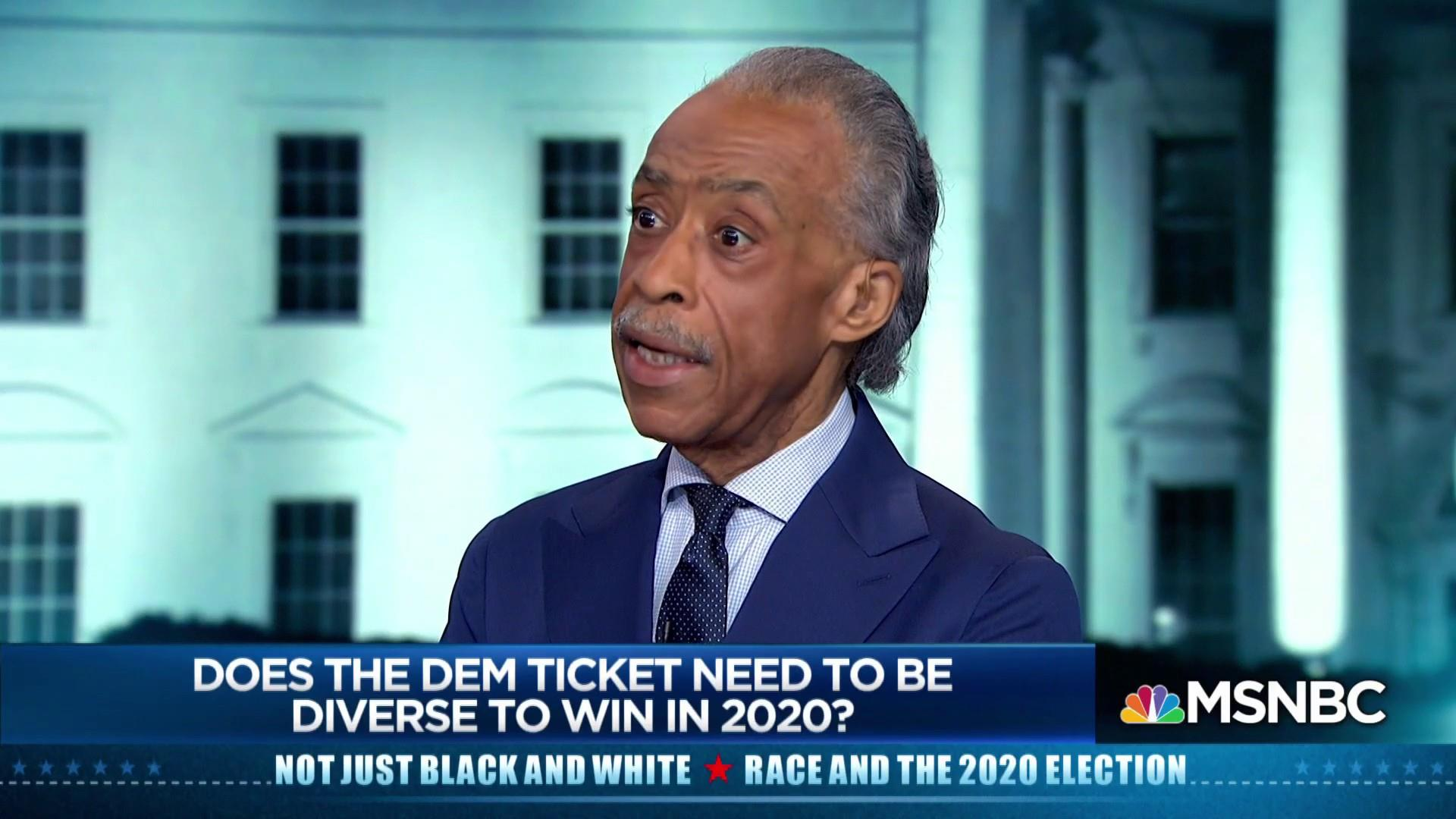 Does the Democratic ticket need to be diverse in order to win in 2020?