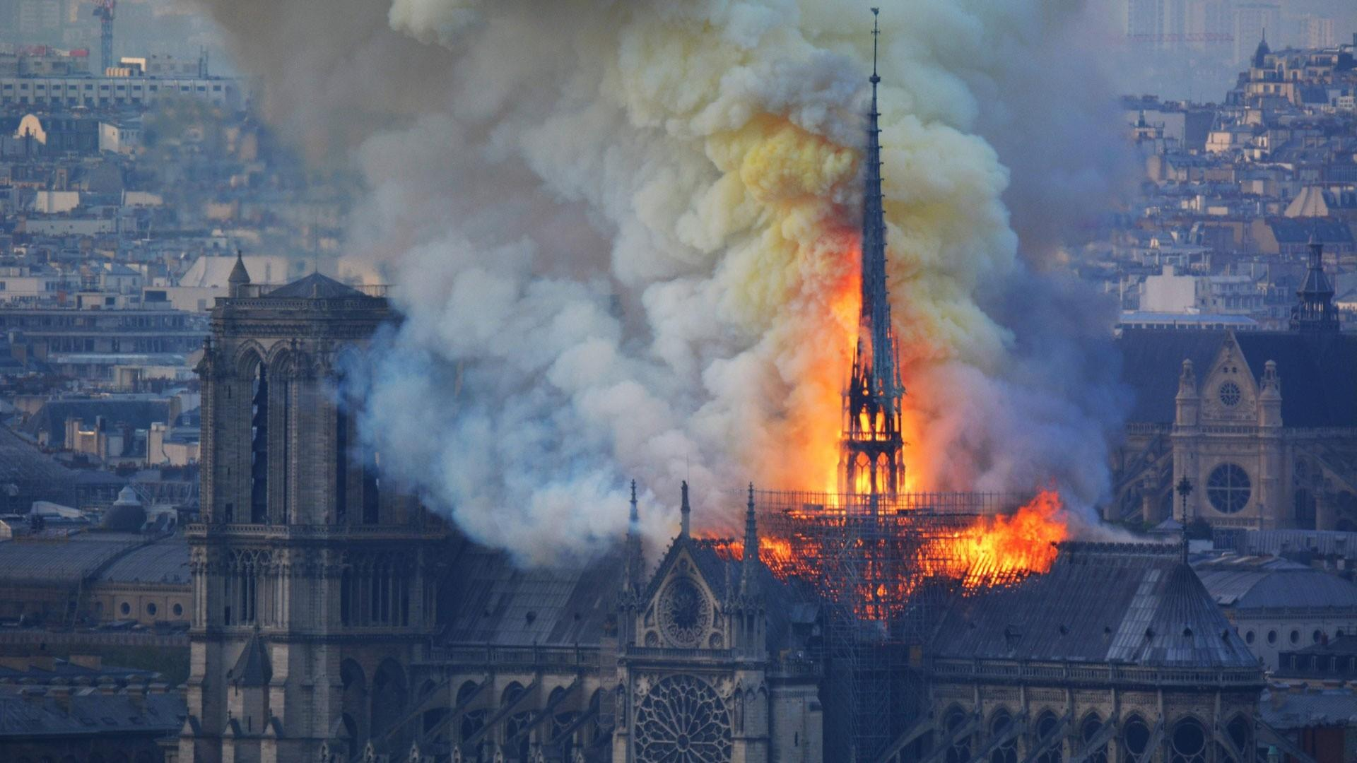 Bishop Barron on Notre Dame fire: To think it might be destroyed is overwhelming