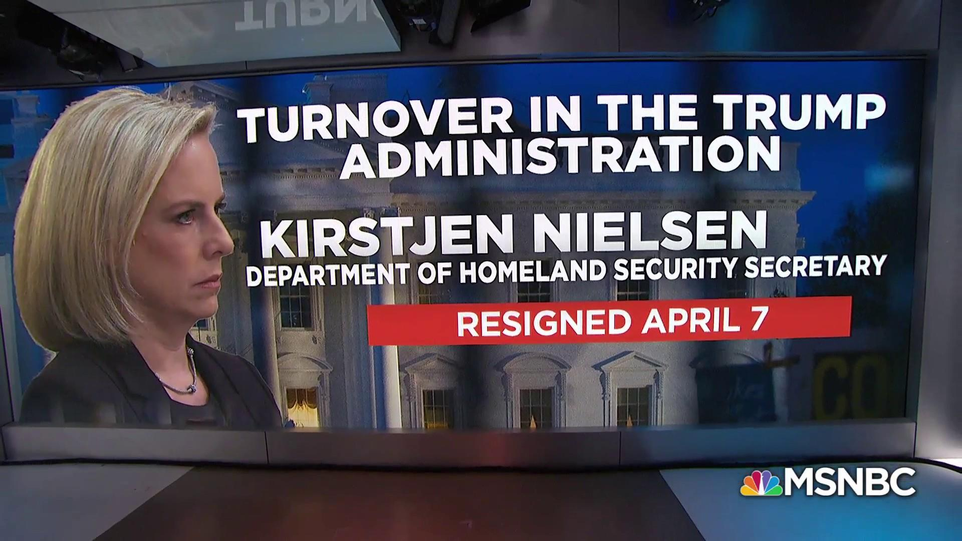 What is Secretary Kirstjen Nielsen's legacy?