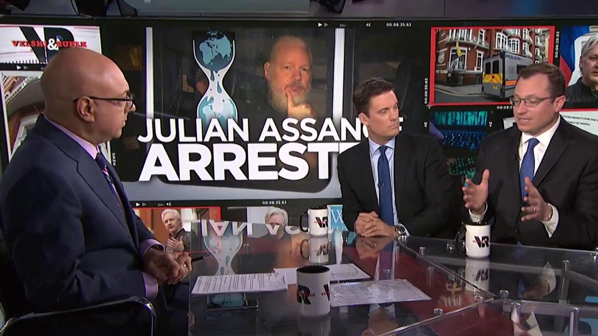 The charges against Julian Assange