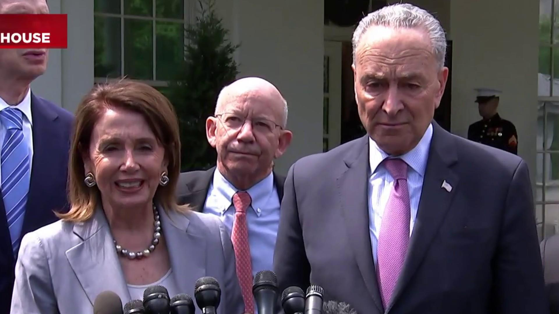 Pelosi, Schumer, and Trump agree on $2T infrastructure plan