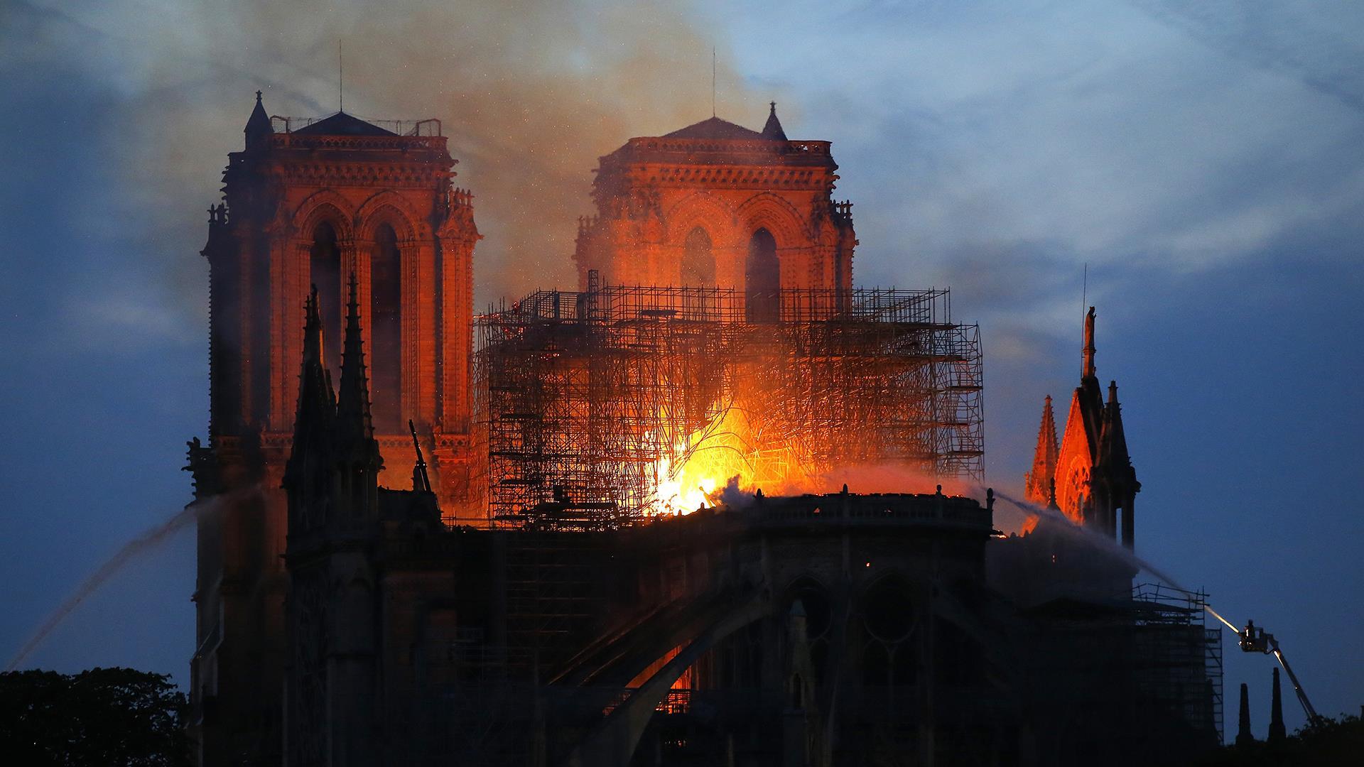 Notre Dame Cathedral fire ravages 'transcendental' cultural treasure