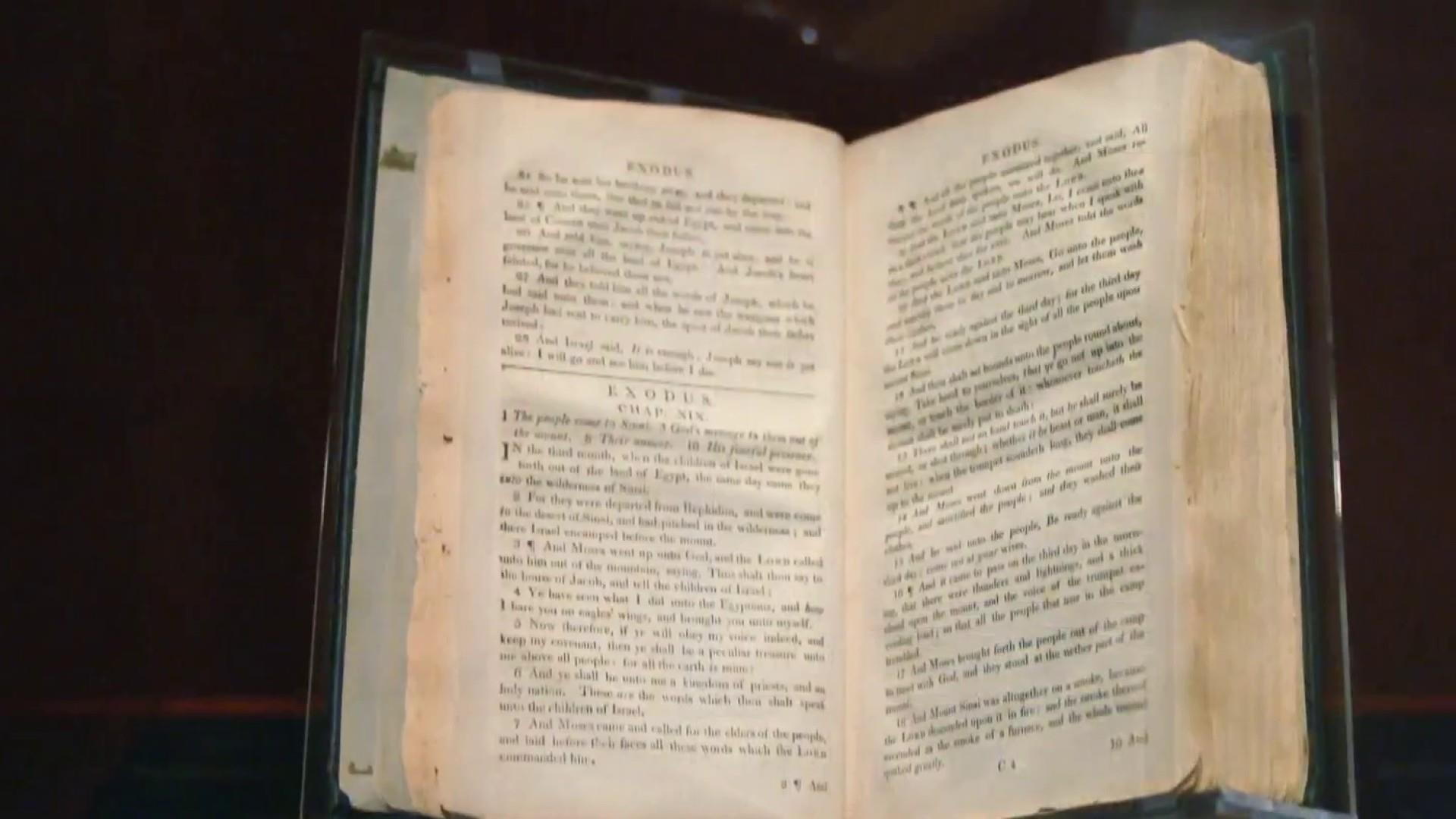 'Slave Bible' removed passages to instill obedience and uphold slavery