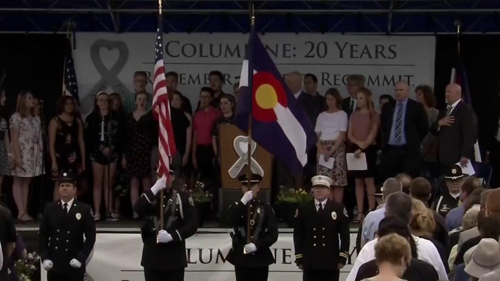 Columbine anniversary: Colorado community honors 13 lives cut short
