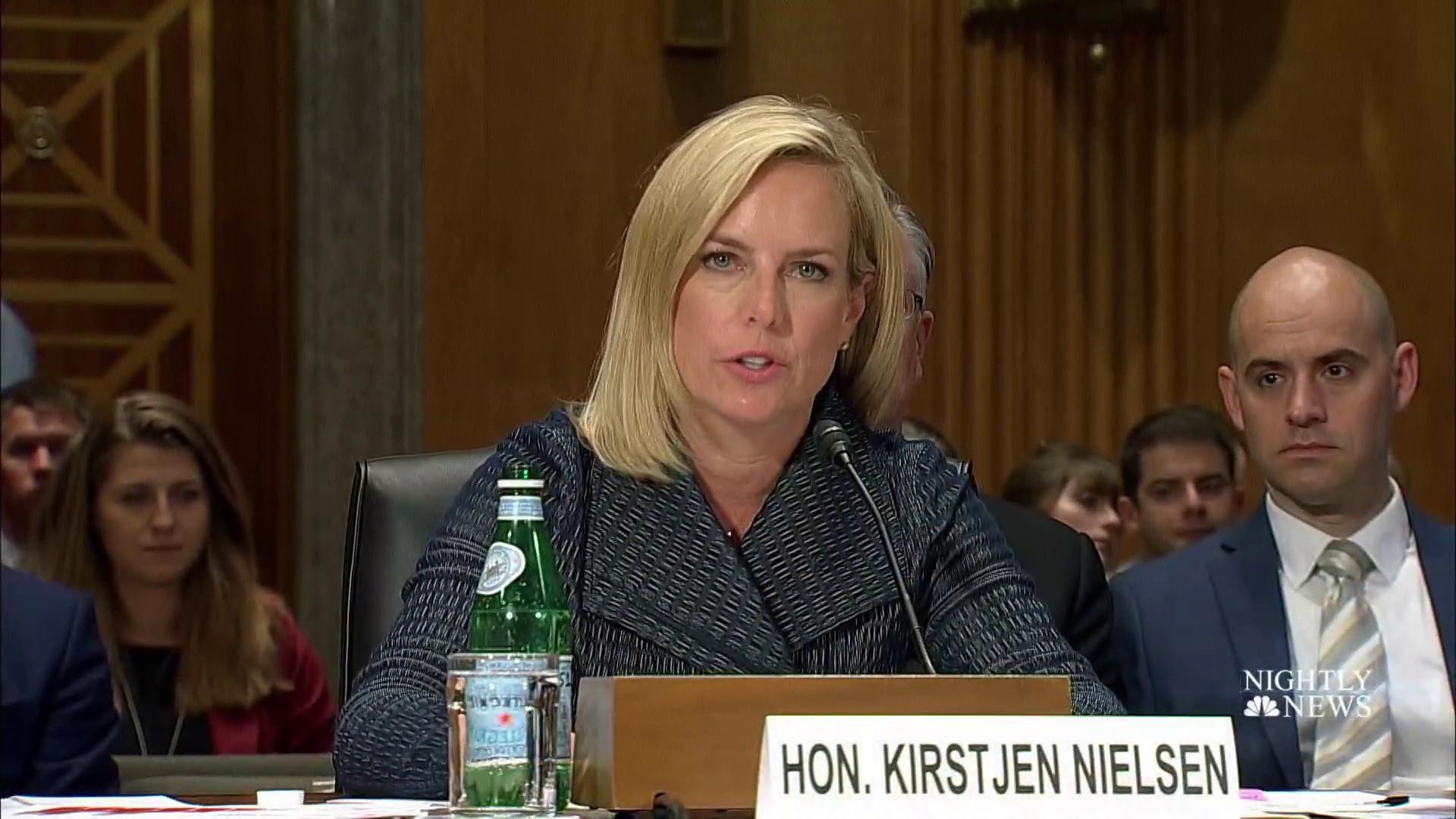 Kirstjen Nielsen resigns as homeland security secretary under pressure from Trump
