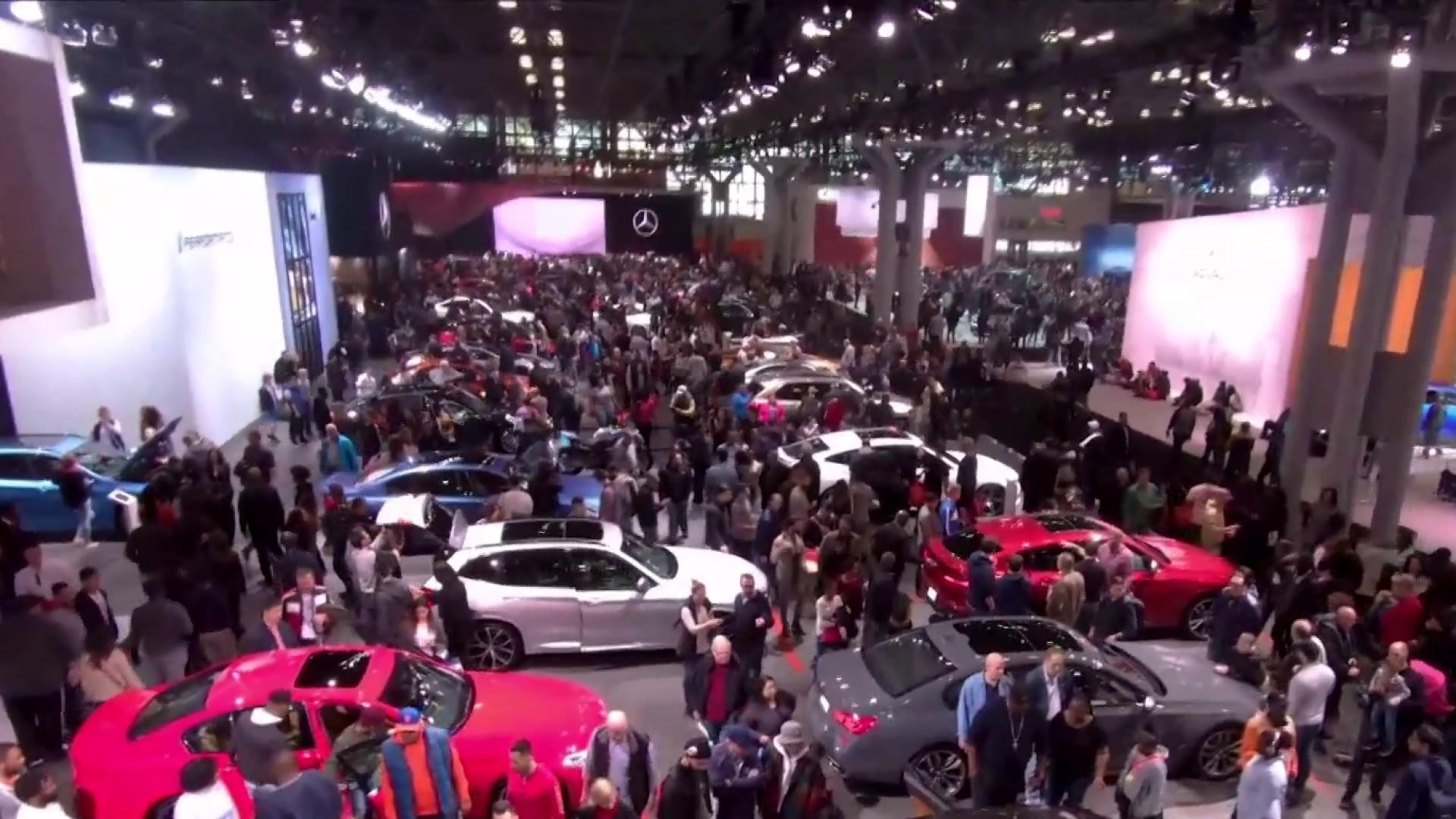 SUVs and electric cars reign at America's largest auto show
