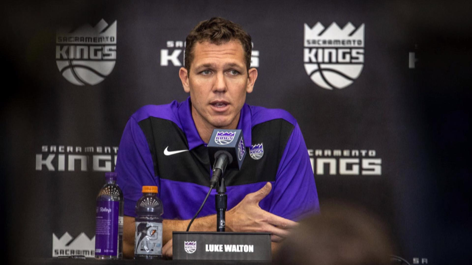 NBA coach Luke Walton accused of sexually assaulting sports reporter in 2014