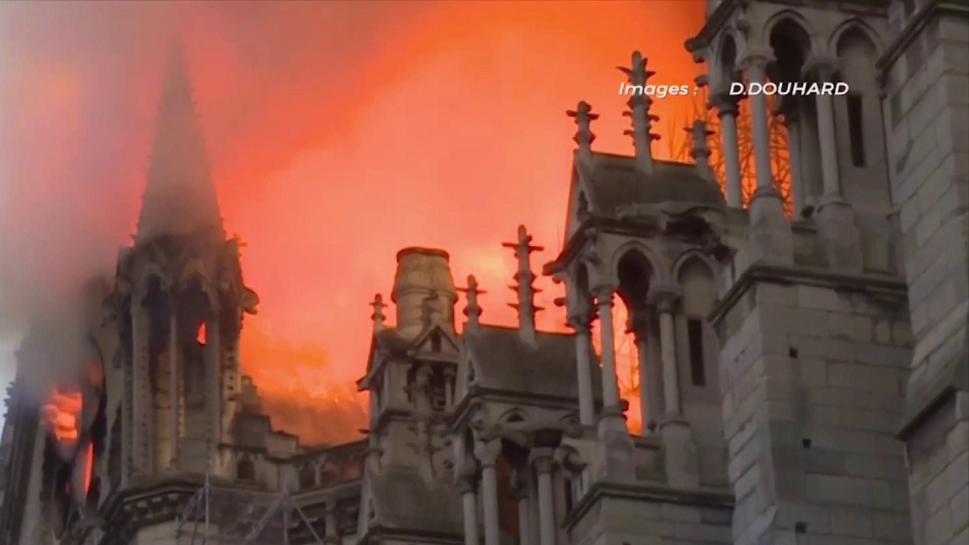 Notre Dame isn't the only historic building at risk of fire, experts say