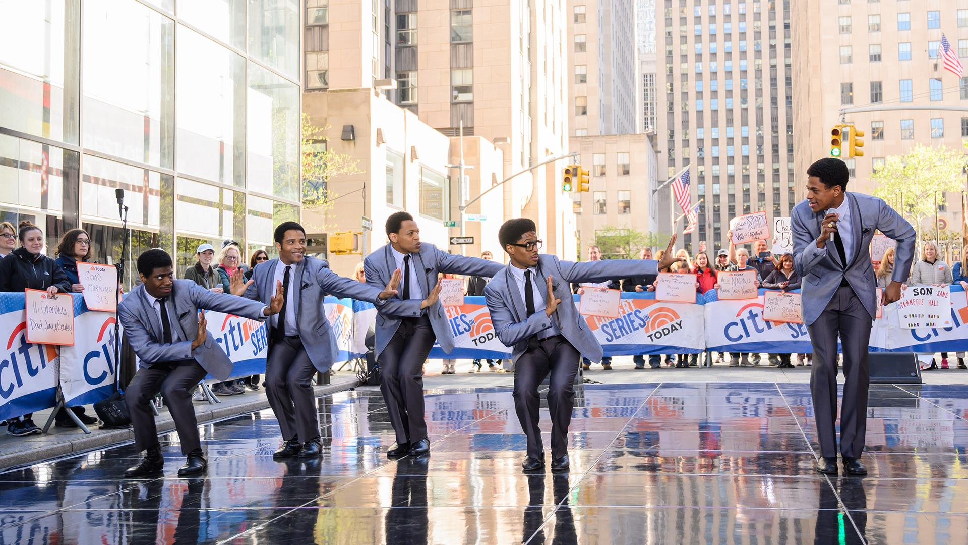 Watch the 'Ain't Too Proud' Broadway cast perform live on TODAY