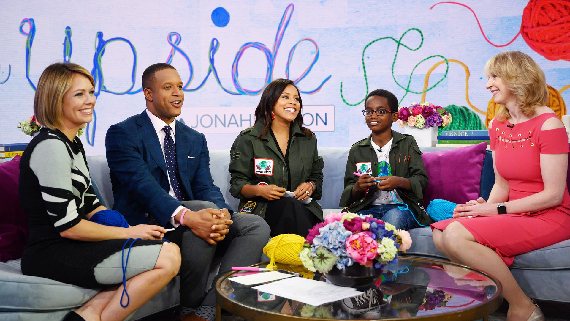 11-year-old crochet prodigy is using his skills to give back