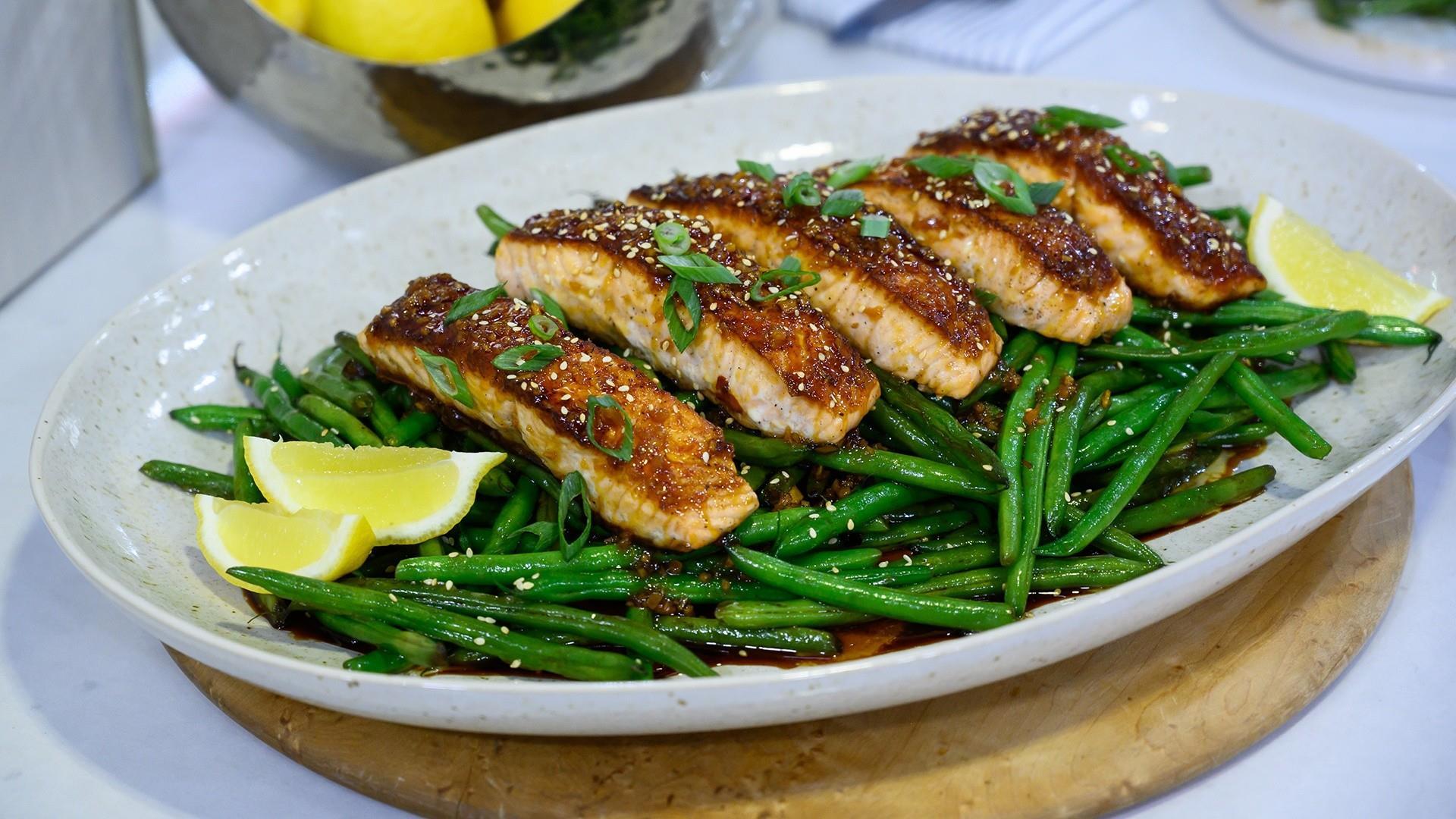 Weeknight dinner recipe: Make Jernard Wells' honey salmon