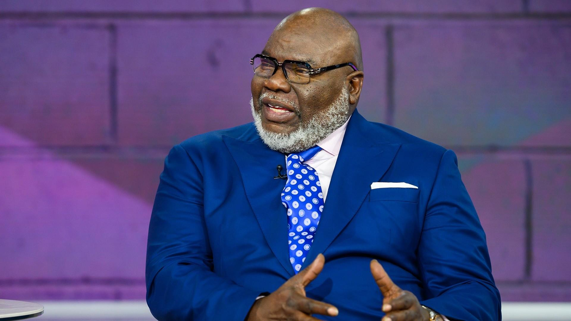 T D  Jakes on transforming difficult times into moments of hope