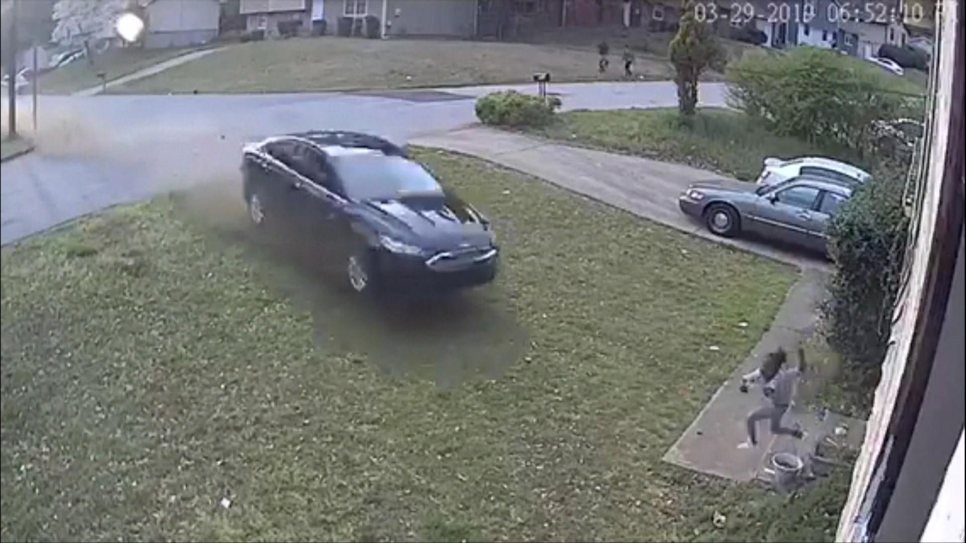 Hit-and-run driver slams into 9-year-old playing in her front yard