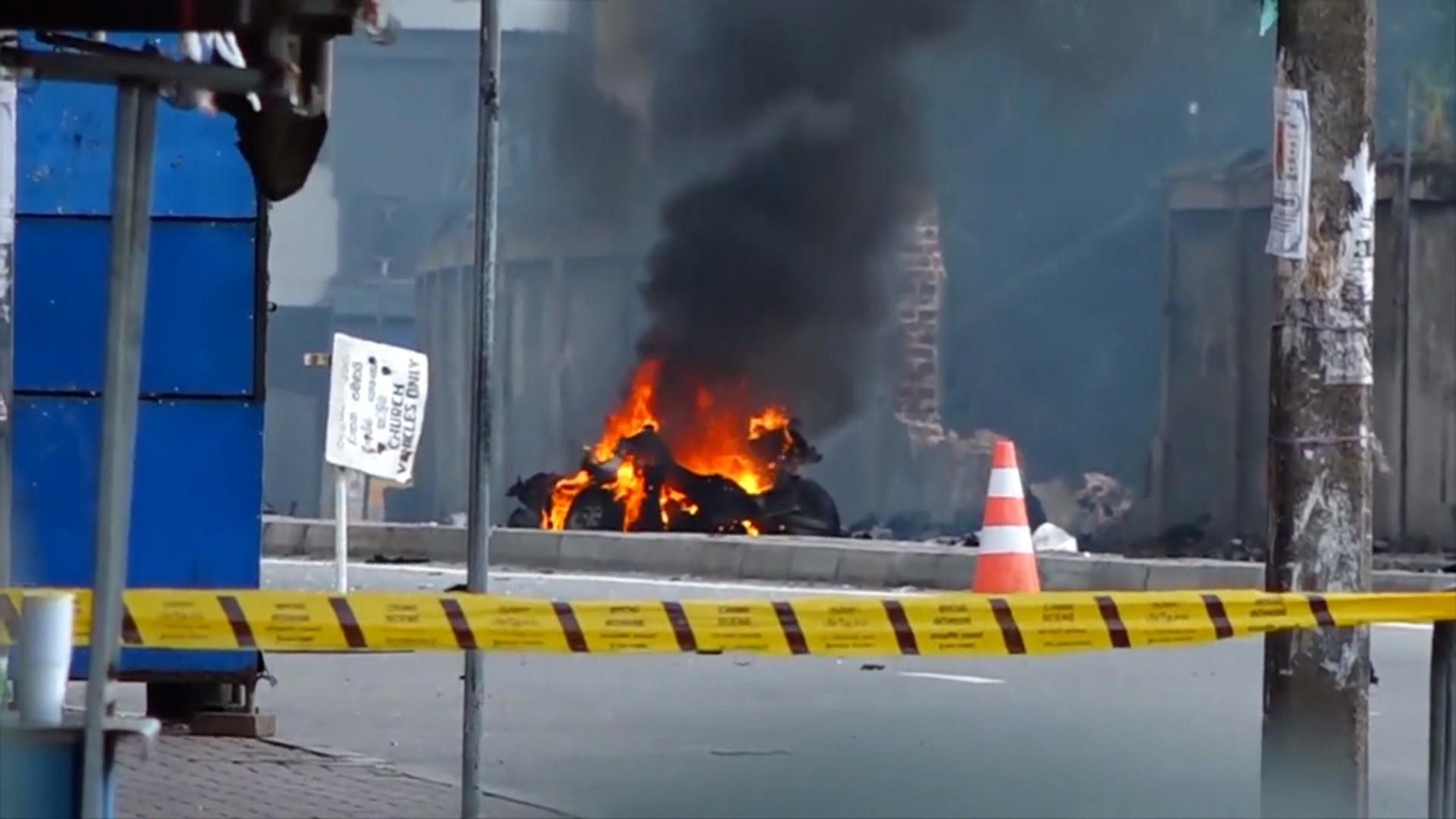 Sri Lanka bombings were retaliation for Christchurch shooting, defense minister says
