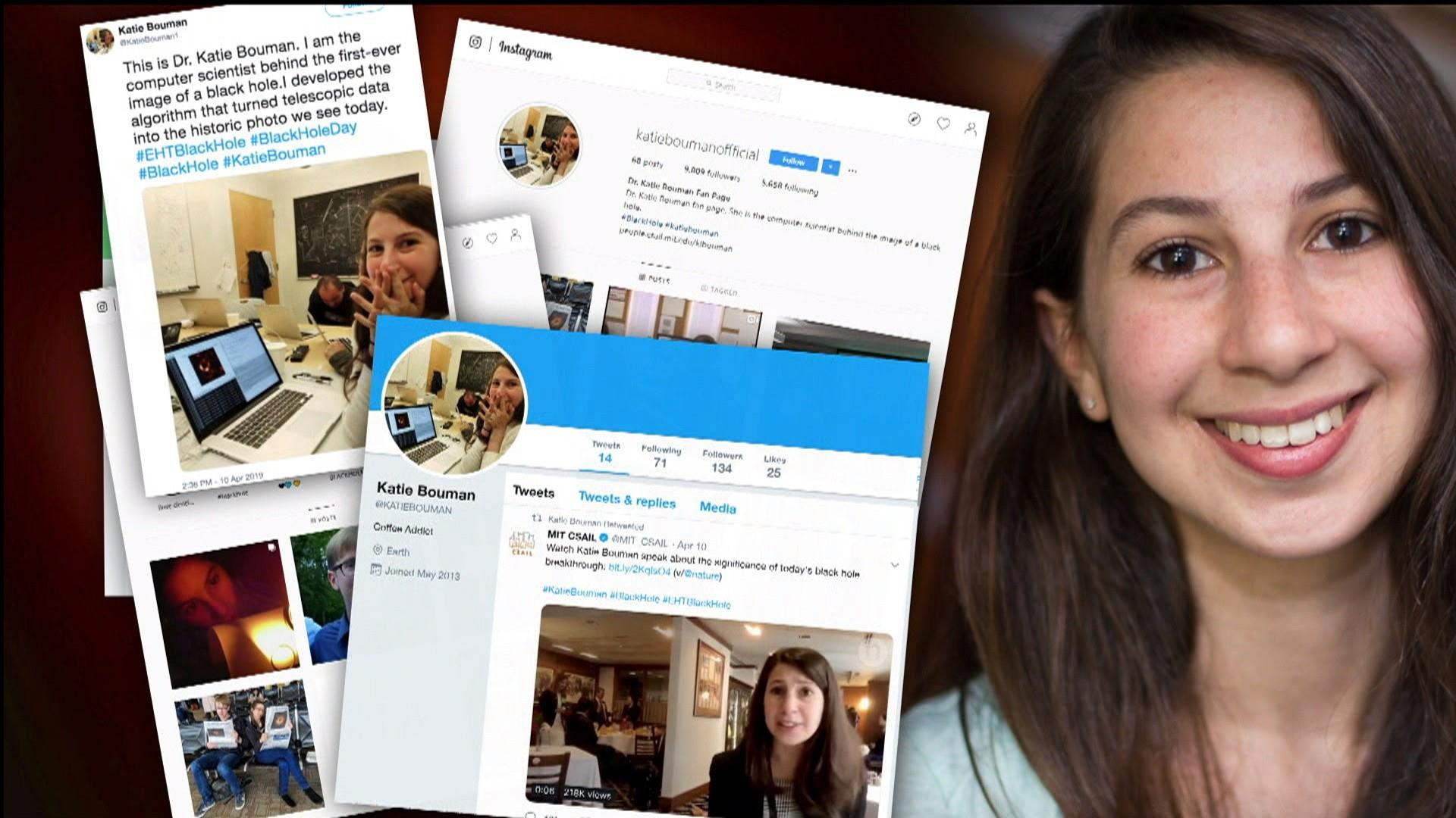 The first picture of a black hole made Katie Bouman an overnight celebrity. Then internet trolls descended.