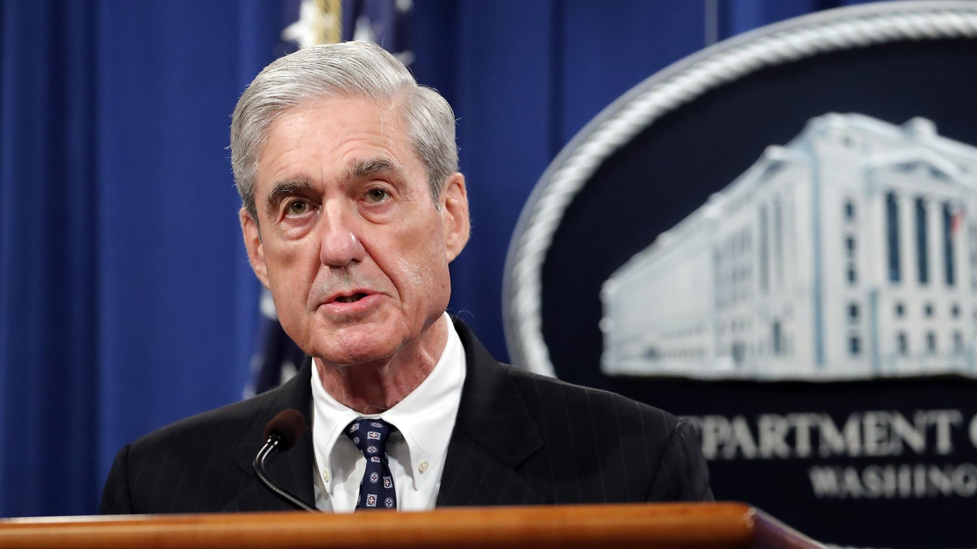 Mueller says charging Trump wasn't an 'option', won't comment beyond his report