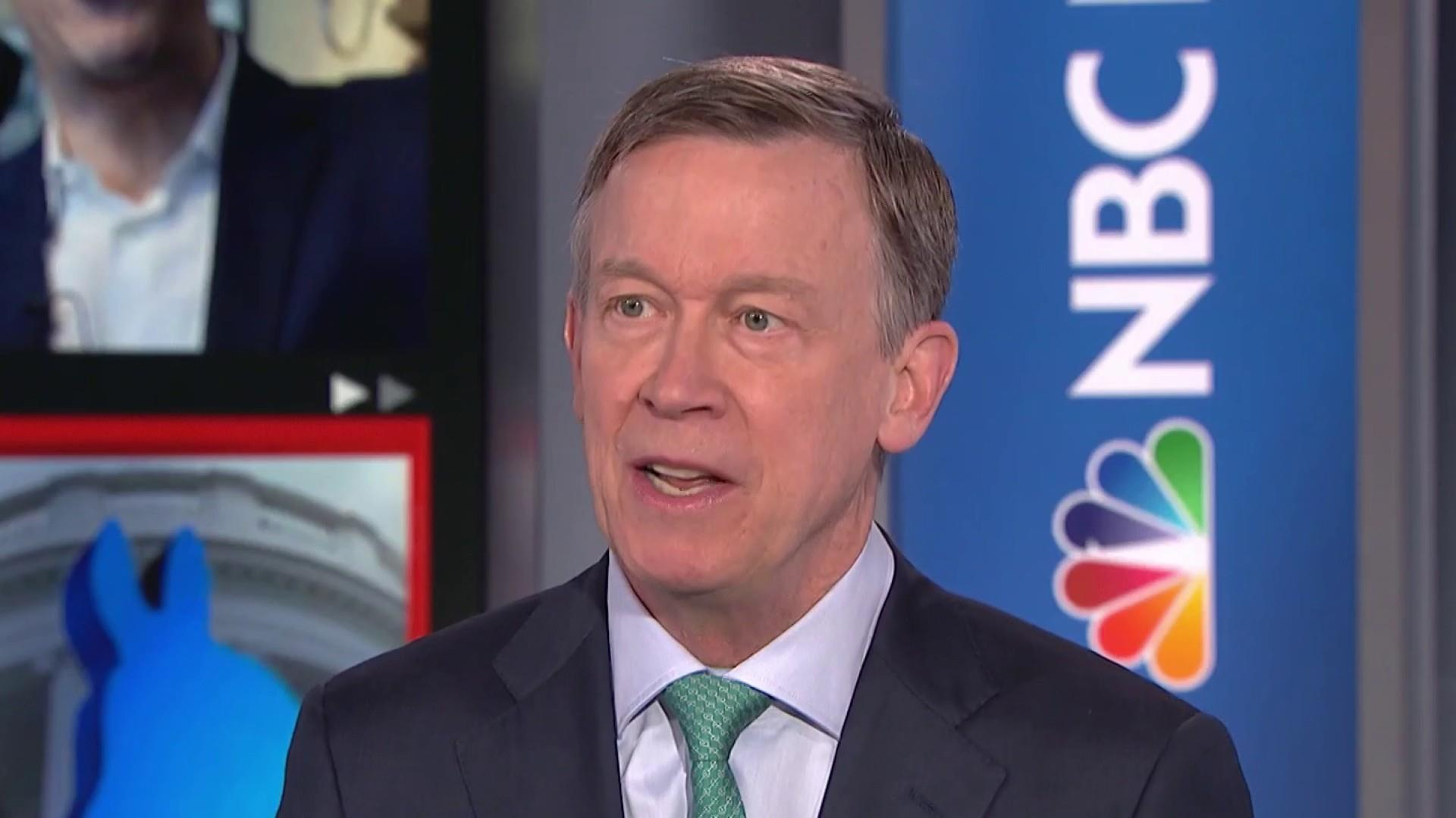 2020 contender Fmr. Gov. Hickenlooper on China, Mueller, capitalism
