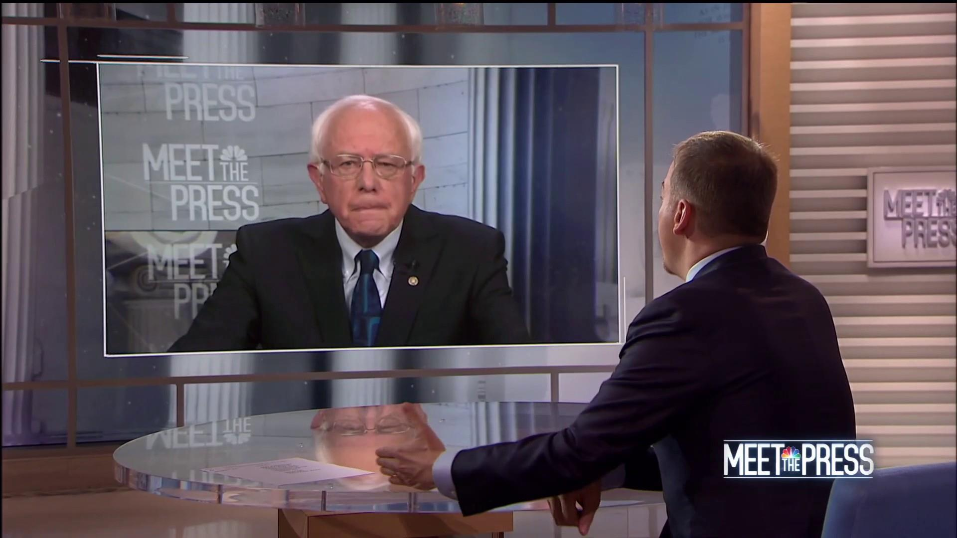 Sanders: It's 'not good enough' just to defeat Trump in 2020