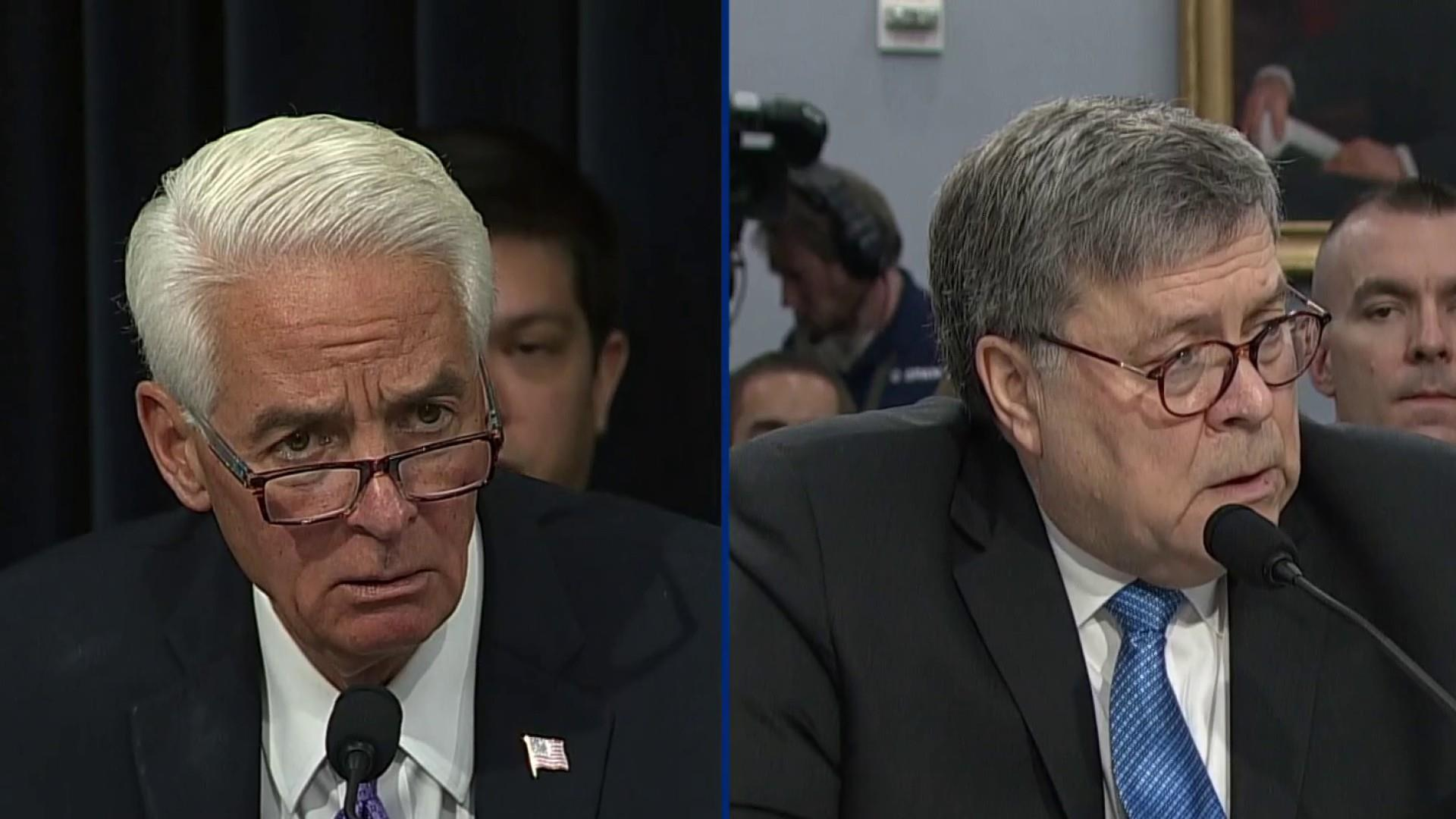 Democrat blasts Trump AG Barr testimony: Shocking and disturbing