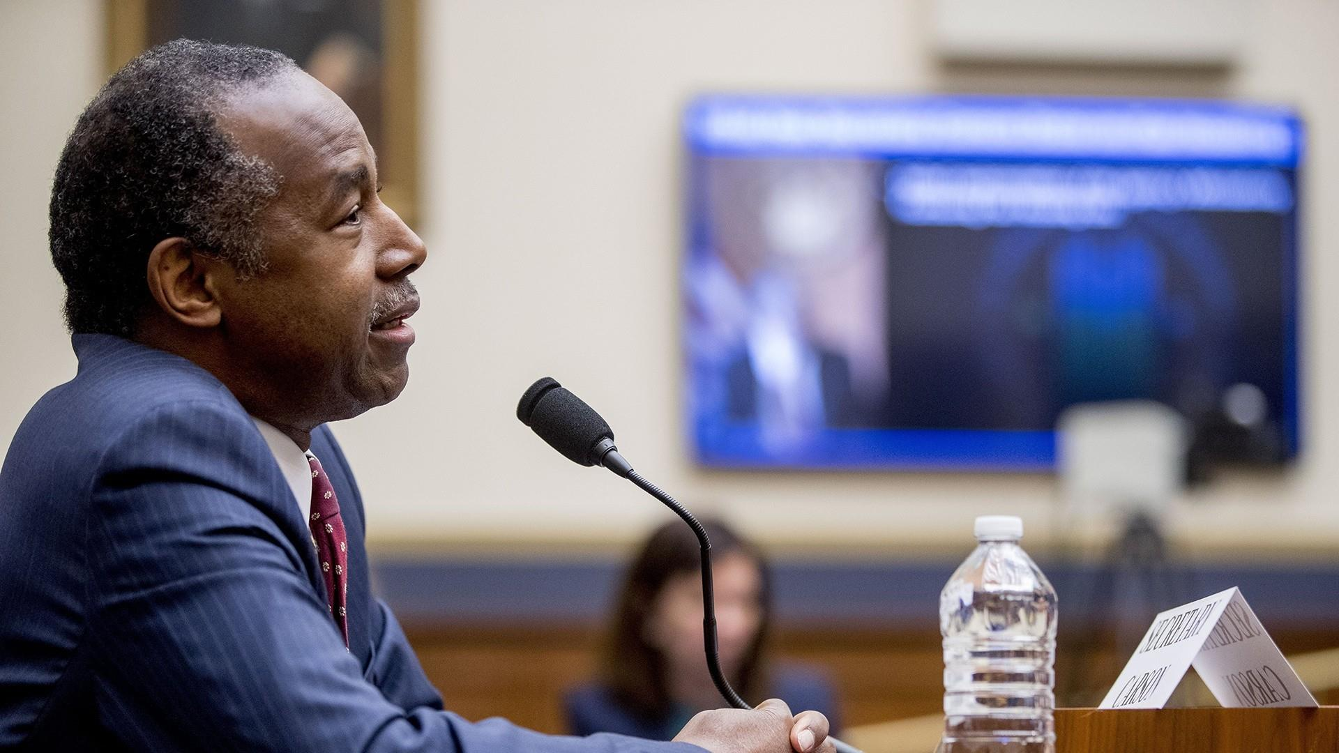 Ben Carson acknowledges HUD fell short on carbon monoxide protections