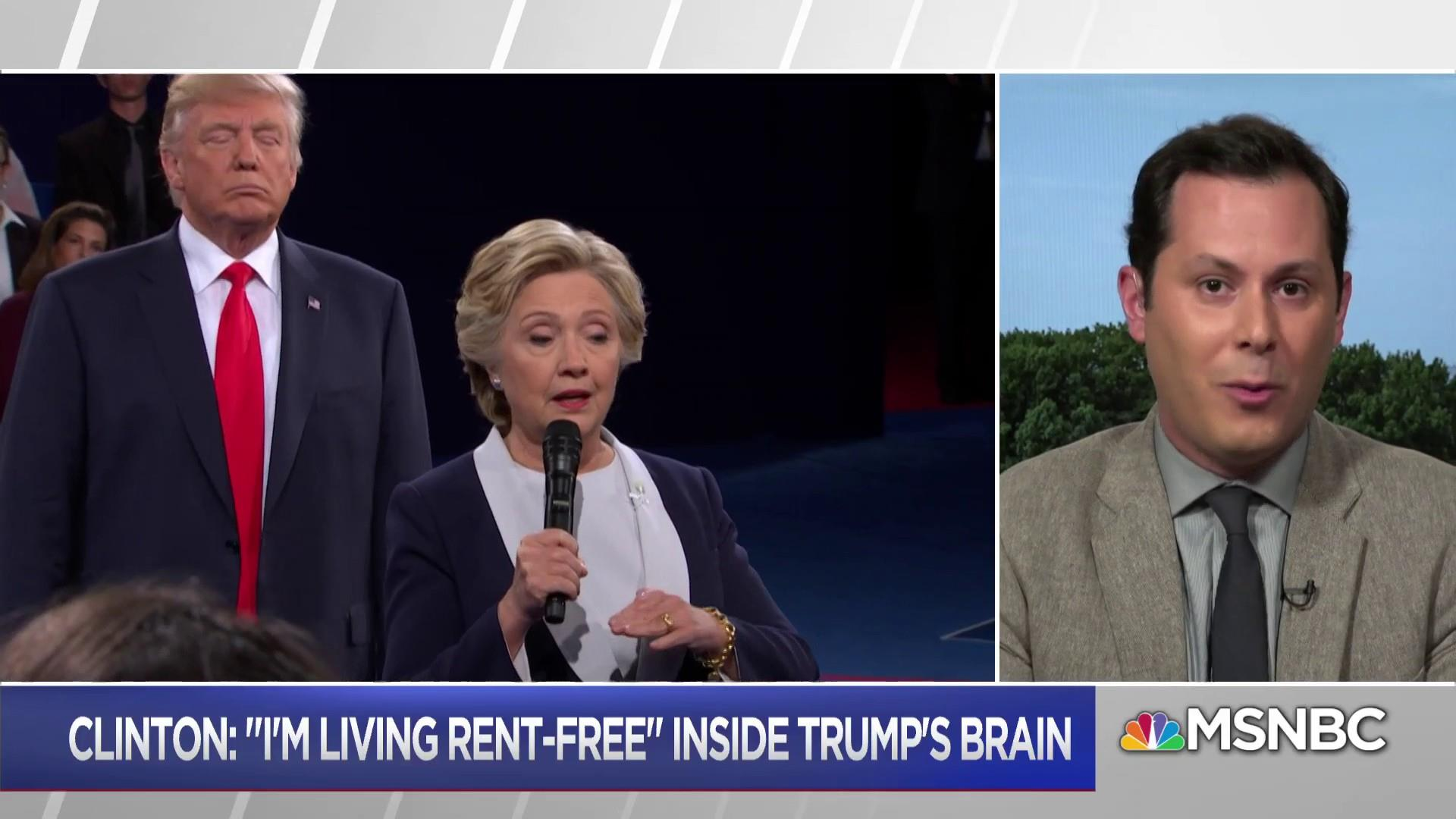 Hillary living rent free in the GOP's head?